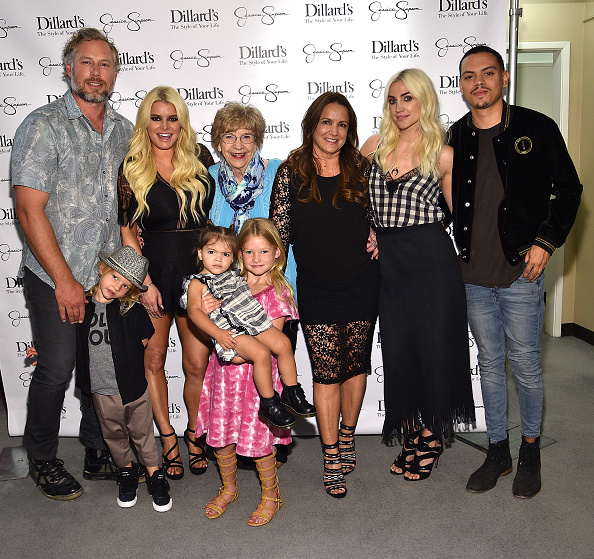 Jessica Simpson's Kids Steal the Show at Texas Event