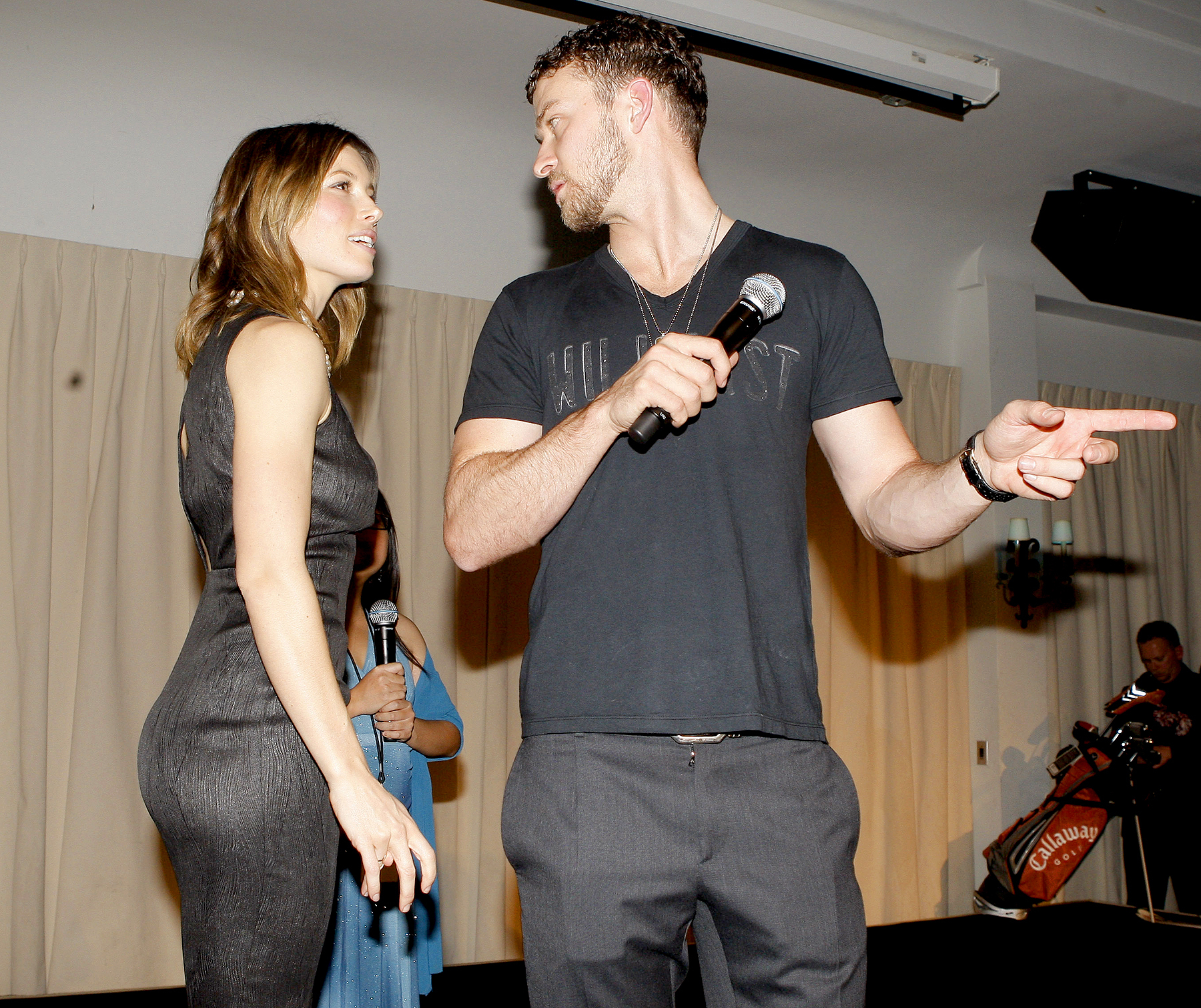 Jessica Biel and Justin Timberlake during Jessica Biel & Make The Difference Network Partner with Auction Cause to Benefit Childrens Hospital Los Angeles at Social Hollywood in Hollywood, CA on December 10, 2008.