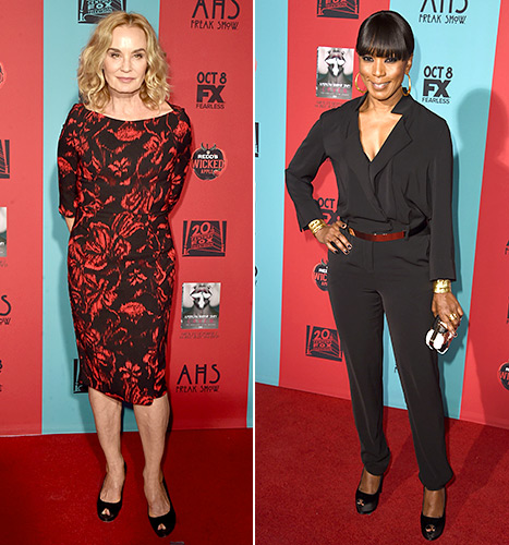 Jessica Lange and Angela Bassett