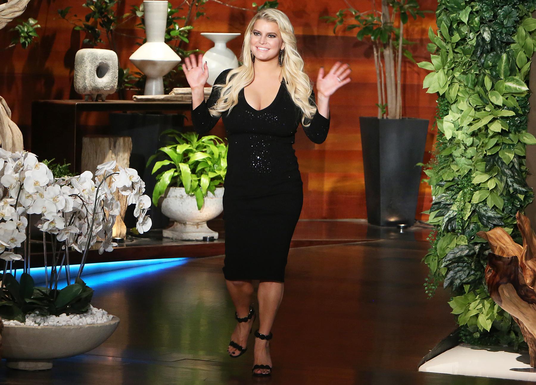 Jessica Simpson The Ellen DeGeneres Show