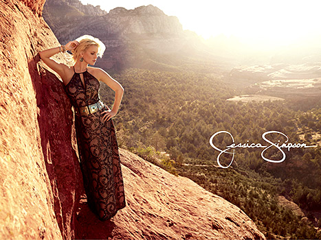 Jessica Simpson Collection Spring Campaign
