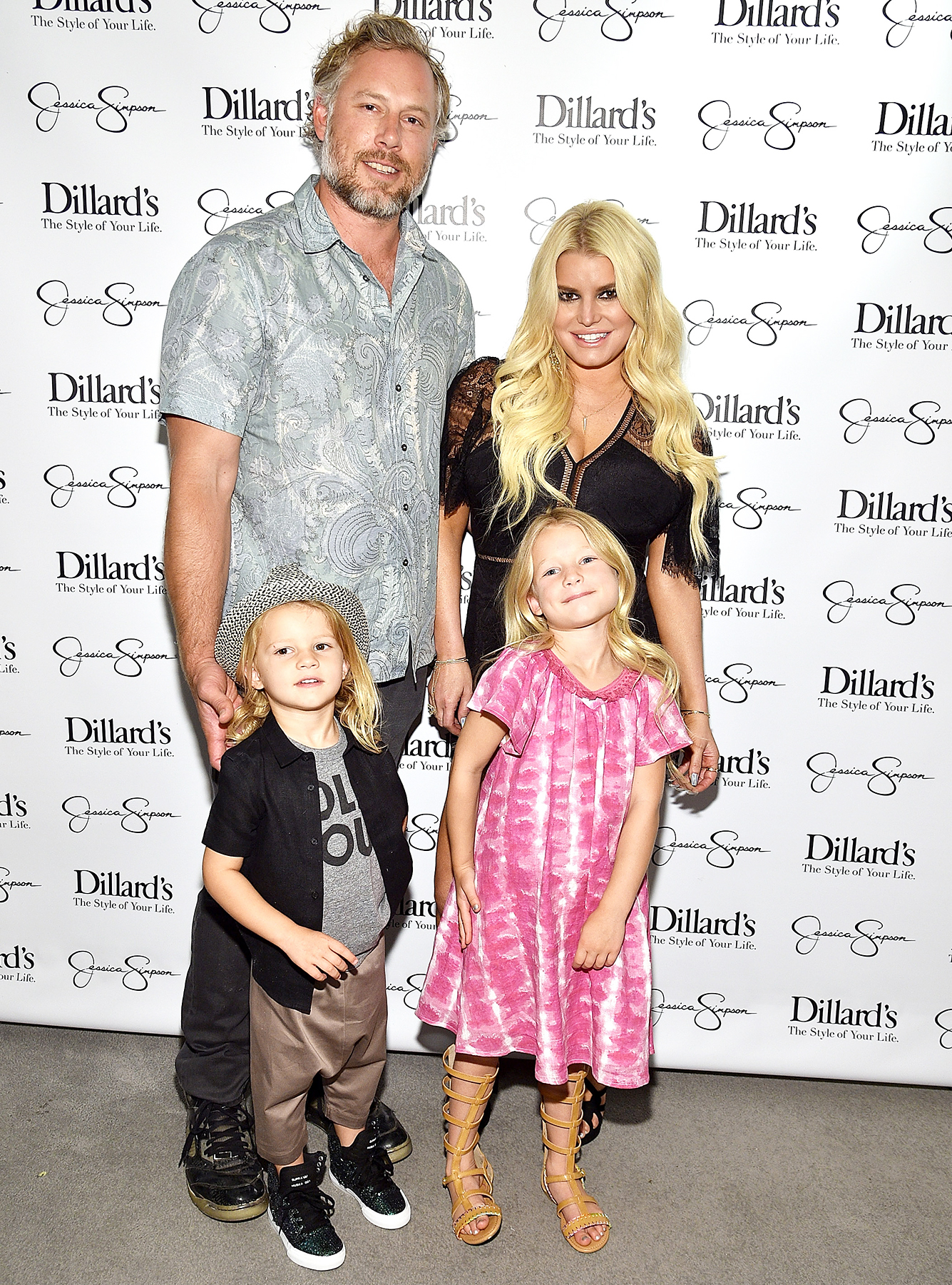 Eric Johnson Jessica Simpson Maxwell Ace