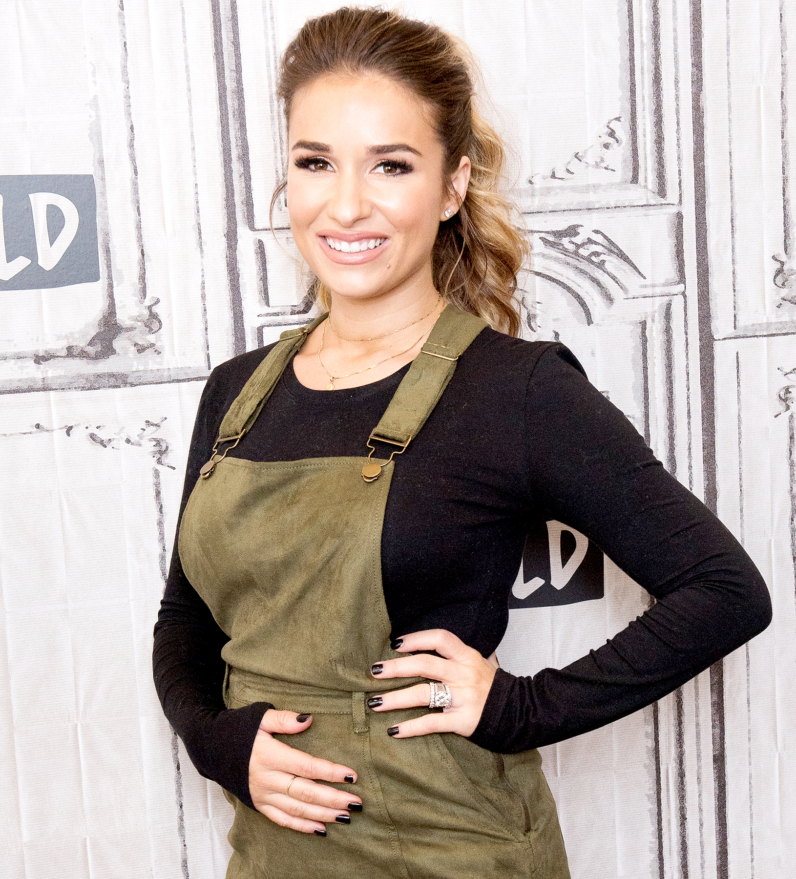 "Jessie James Decker visits Build Studio to discuss ""Southern Country Girl City Lights"" & ""Eric and Jesse"" at Build Studio on October 13, 2017 in New York City."