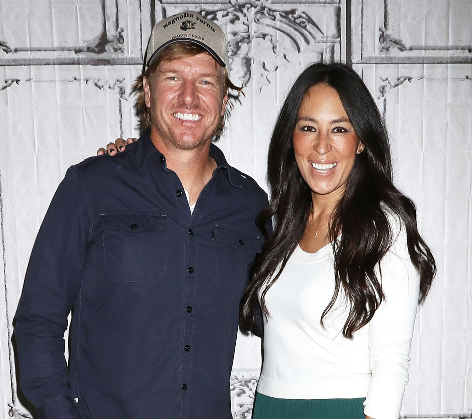 Chip Gaines and Joanna Gaines attend The Build Series to discuss