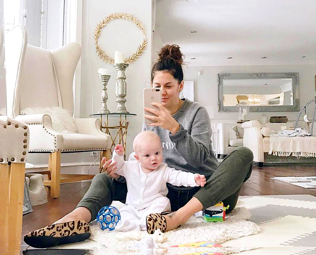 Jillian Harris and Leo