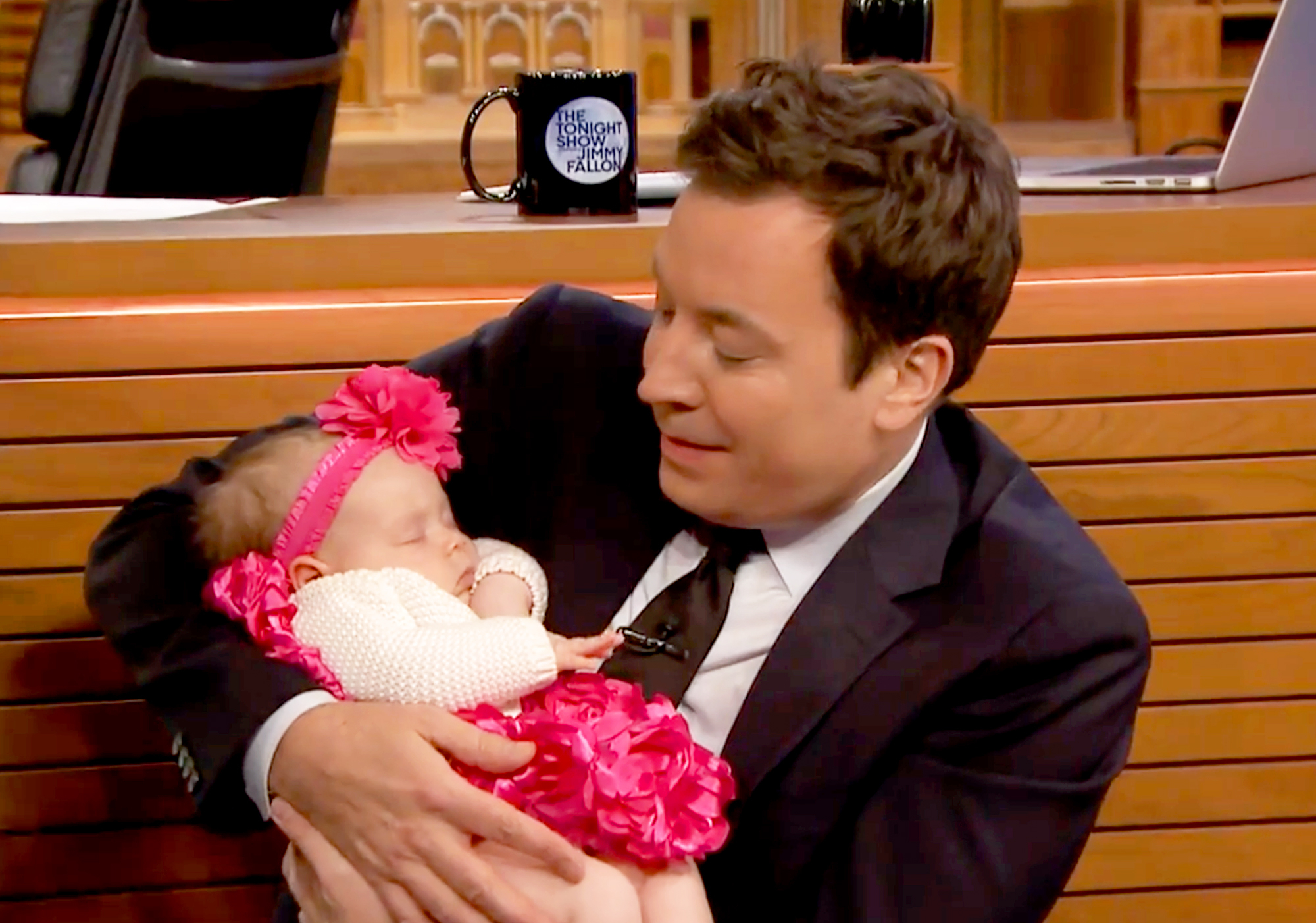 Jimmy Fallon and Chanel