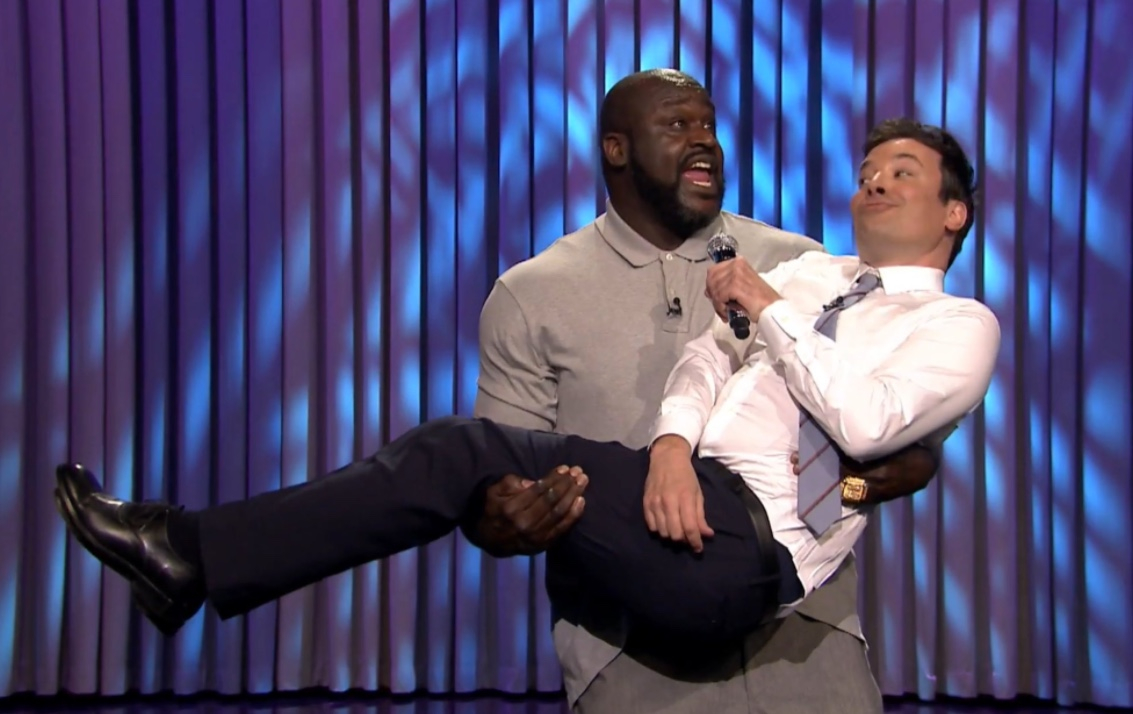 Shaquille O'Neal and Jimmy Fallon Lip Sync Battle