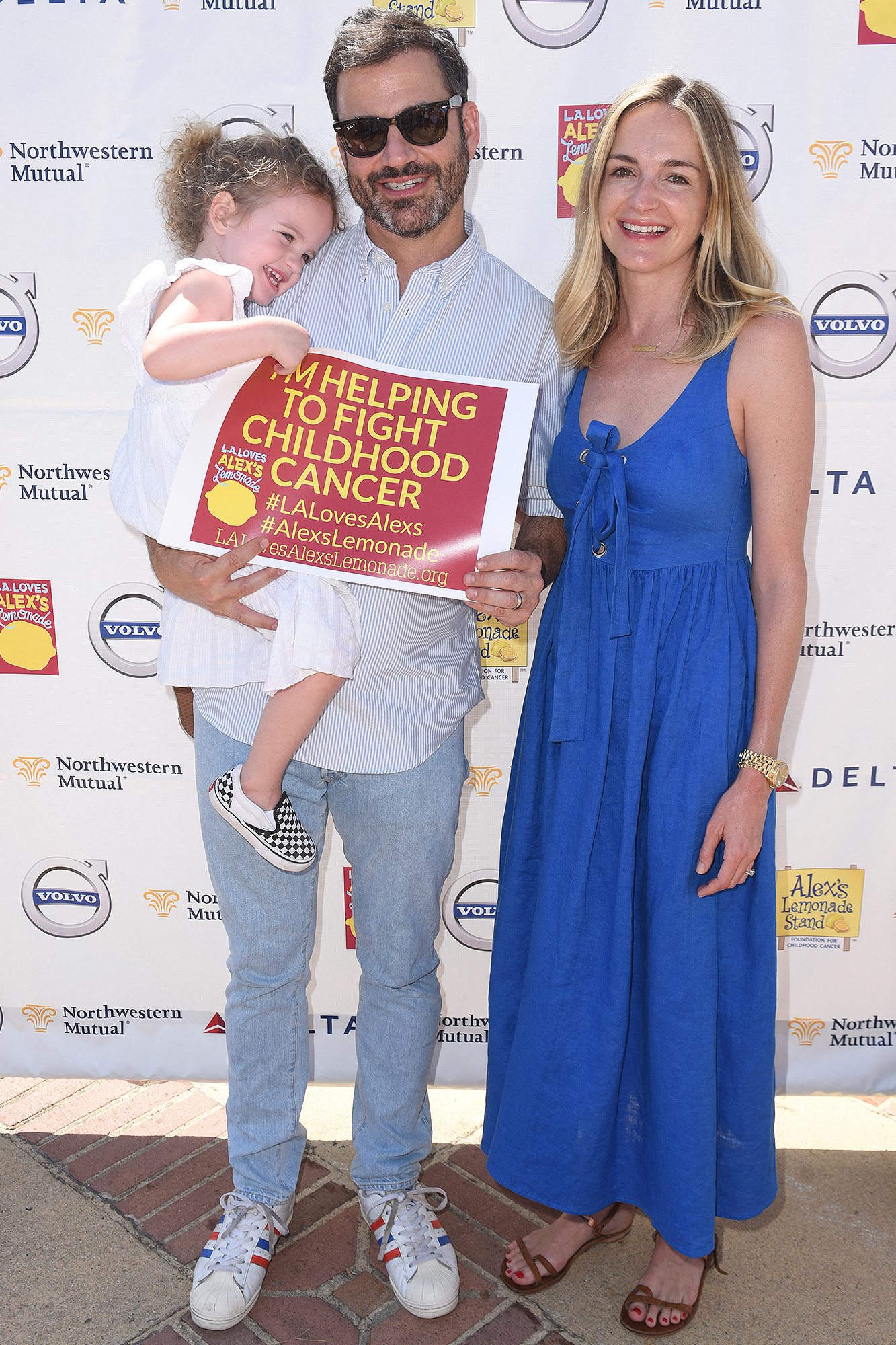 Jimmy Kimmel, Molly McNearney, Jane Kimmel, L.A. Loves Alexs Lemonade, Childhood Cancer