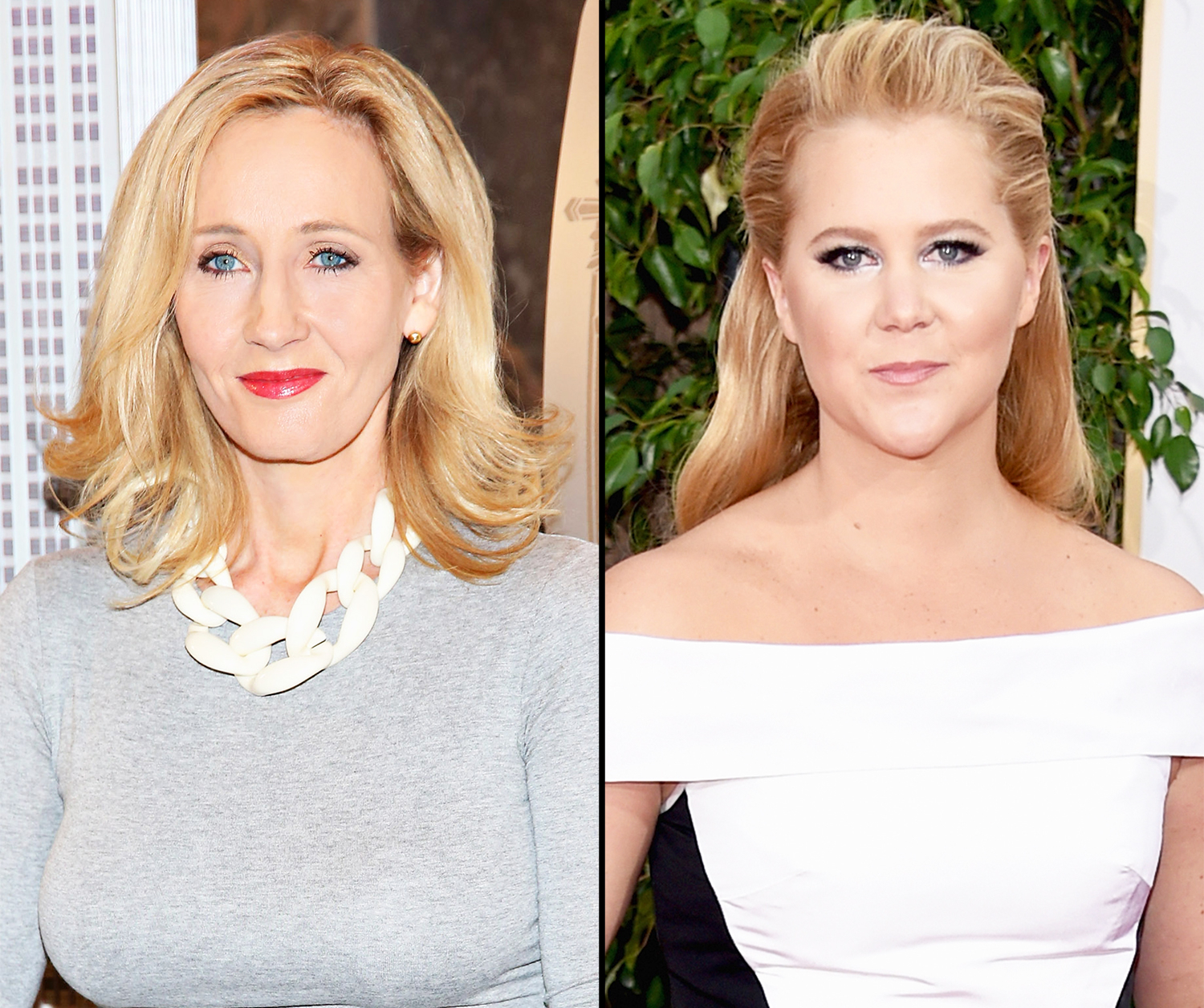 J.K. Rowling and Amy Schumer