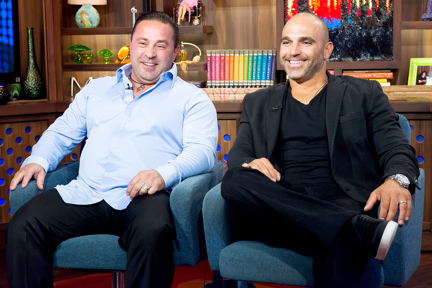 Joe Giudice and Joe Gorga in 2015.