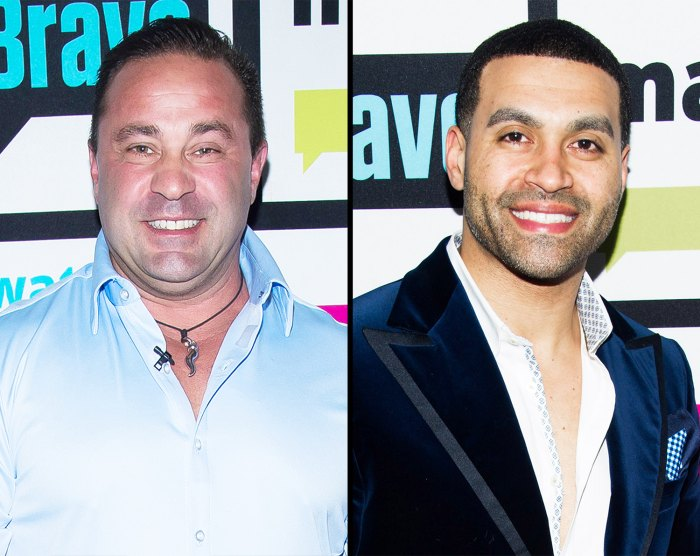 Joe Giudice and Apollo Nida