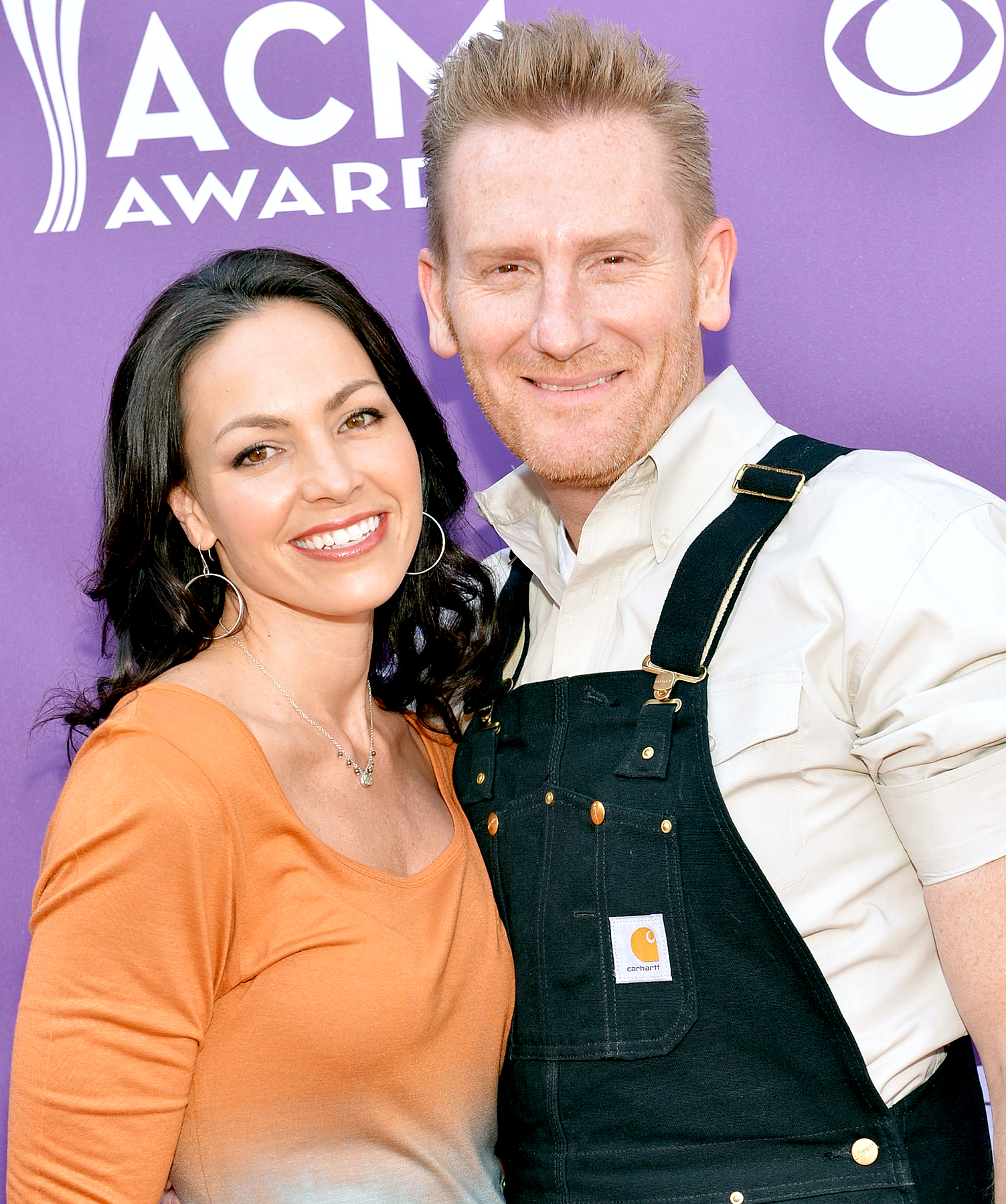 Joey Feek and Rory Feek of Joey & Rory attend the 48th Annual Academy of Country Music Awards at the MGM Grand Garden Arena on April 7, 2013, in Las Vegas.