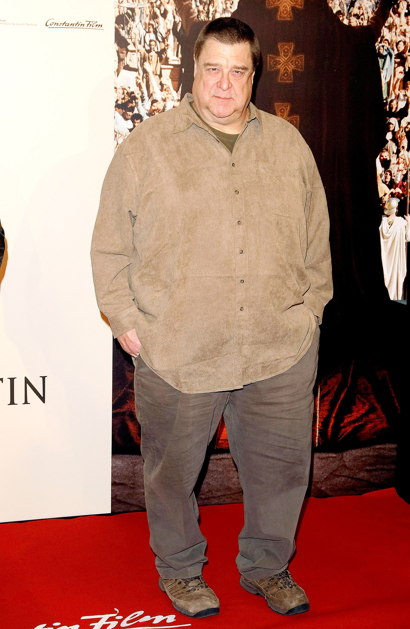 John Goodman attends the photocall of 'Pope Joan' at Hotel Ritz Carlton on October 19, 2009 in Berlin, Germany.