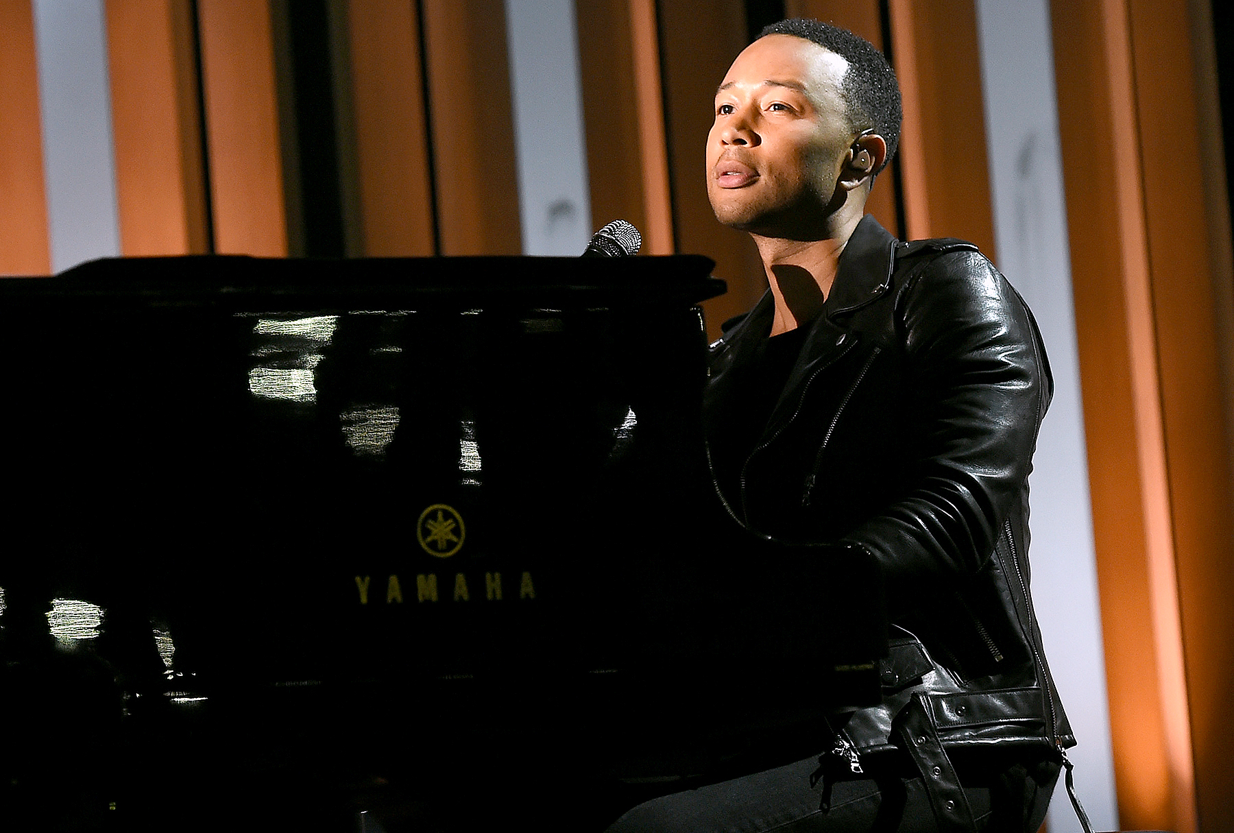 John Legend performs at the 2017 Billboard Music Awards at T-Mobile Arena in Las Vegas on May 21, 2017.
