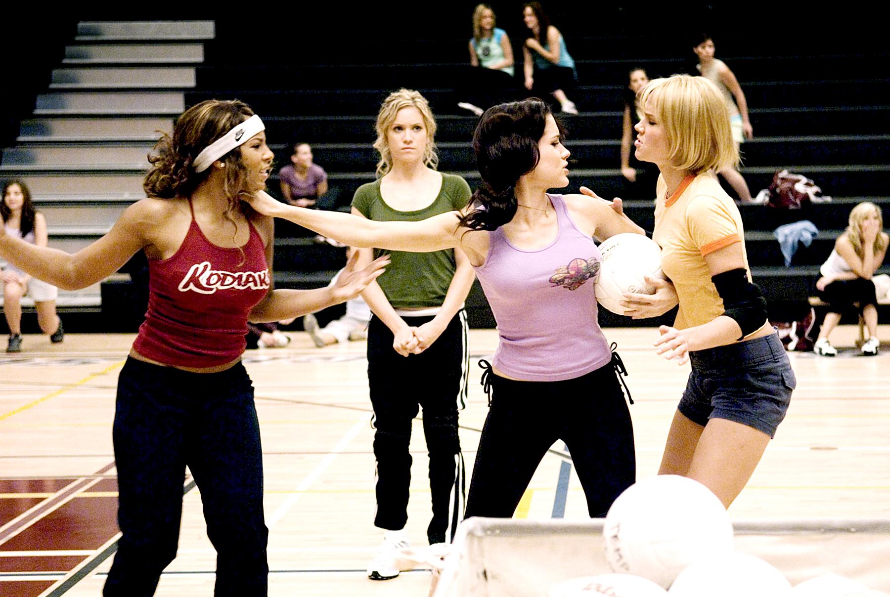 Ashanti, Brittany Snow, Sophia Bush and Arielle Kebbel in 'John Tucker Must Die.'
