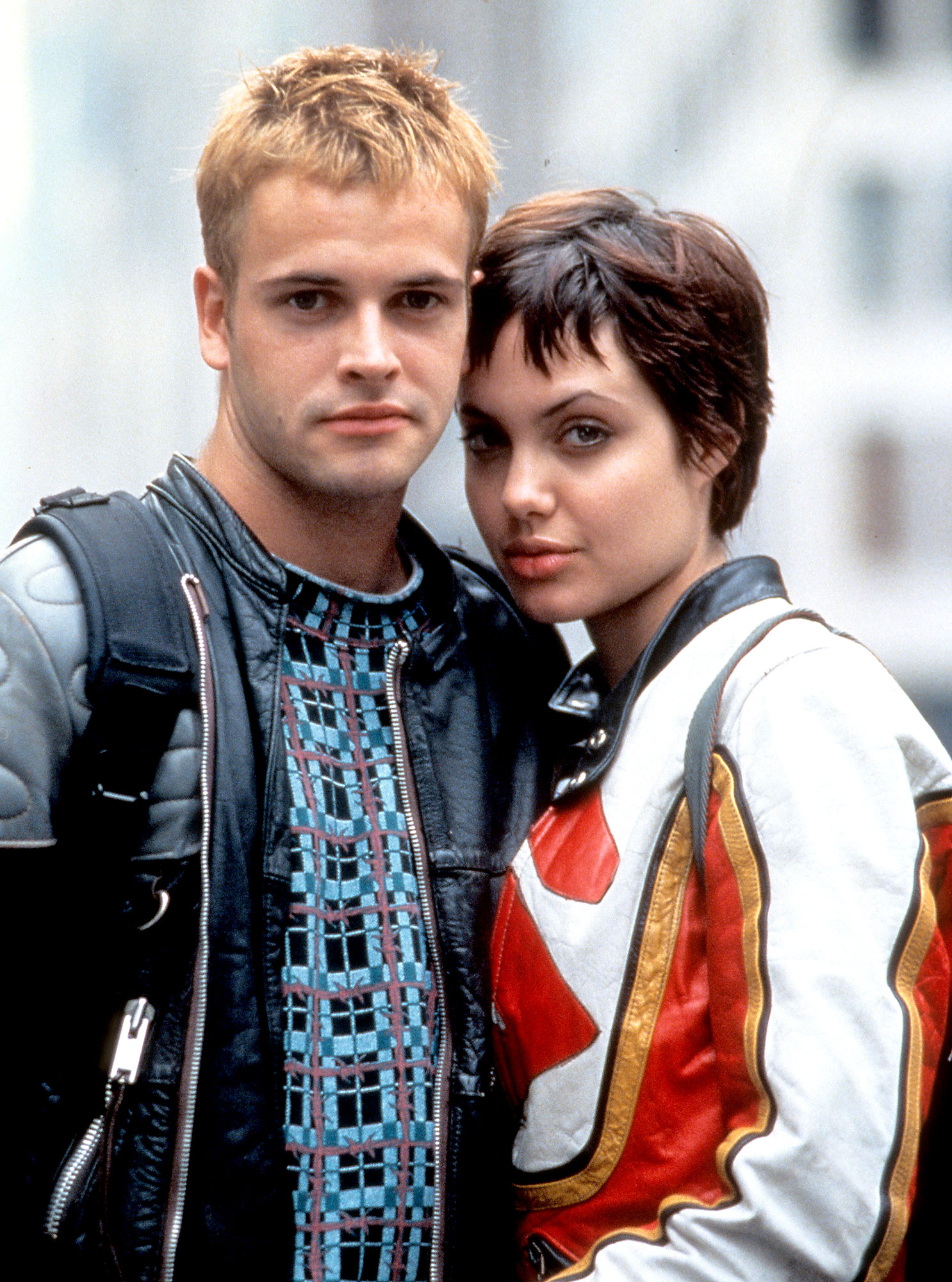 Jonny Lee Miller And Angelina Jolie In A Scene From The Film Hackers 1995 United Artists Getty Images