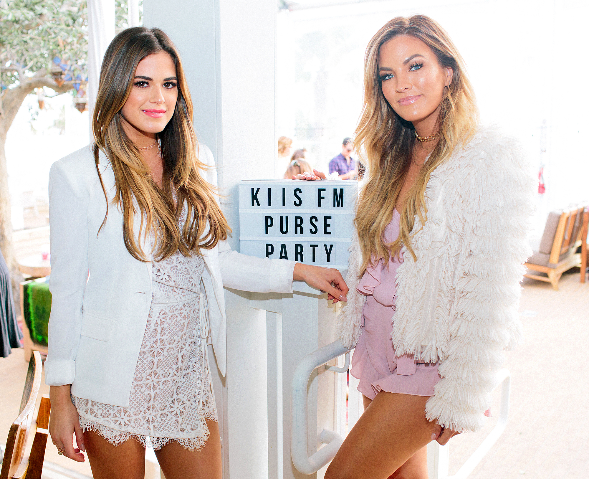 JoJo Fletcher and Becca Tilley