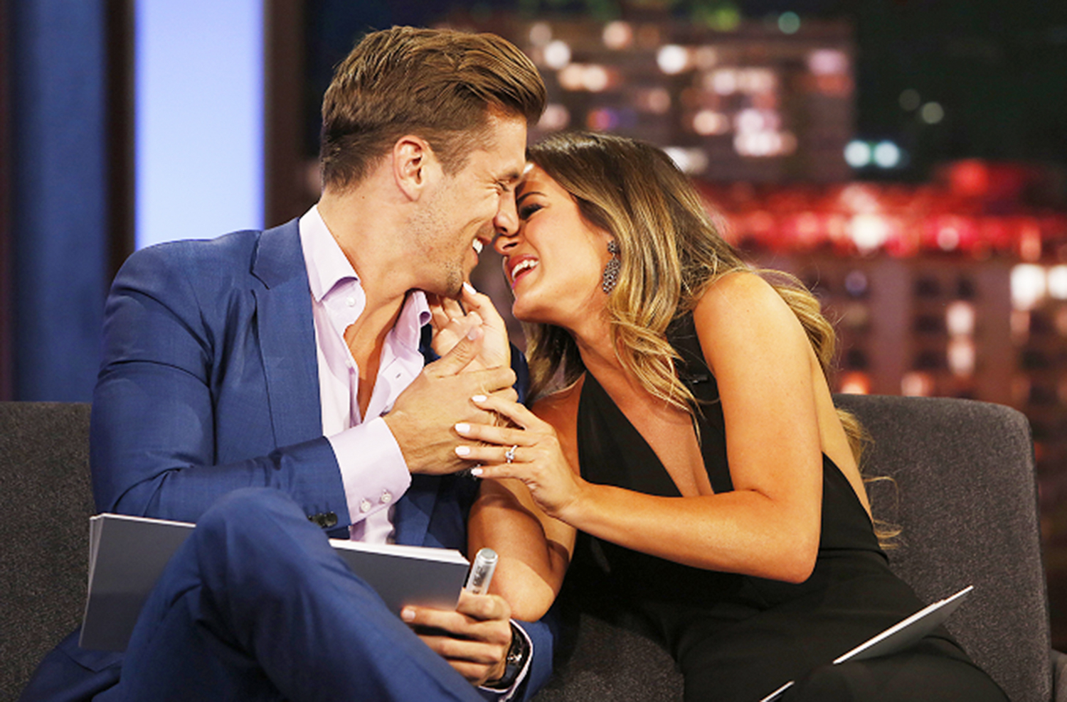 JoJo Fletcher and Fiance Jordan Rodgers Play the Newlywed Game on Jimmy Kimmel