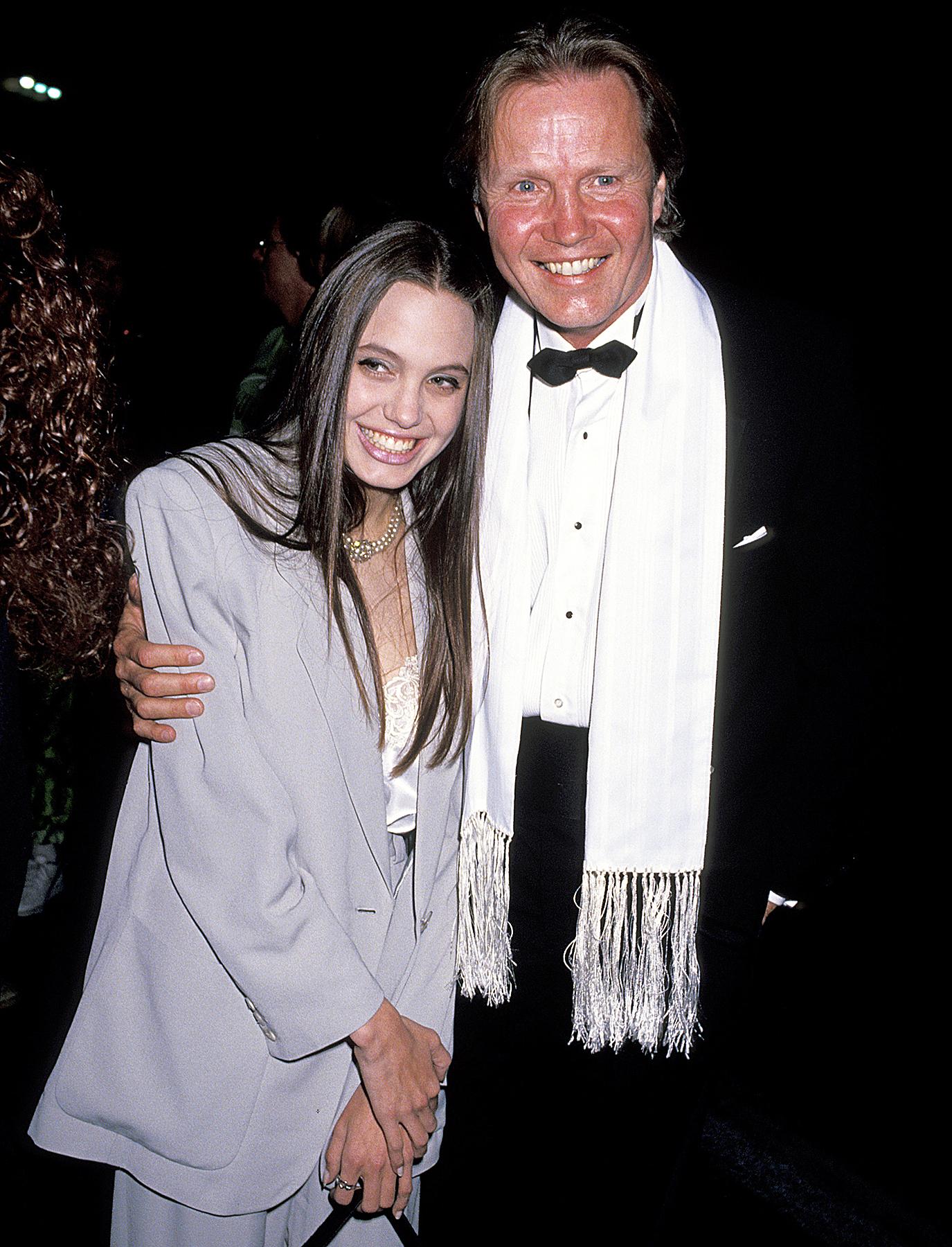 Jon Voight Angelina Jolie 1991