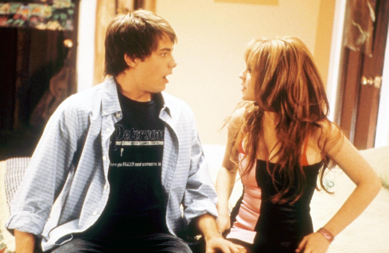 Jonathan Bennett and Lindsay Lohan
