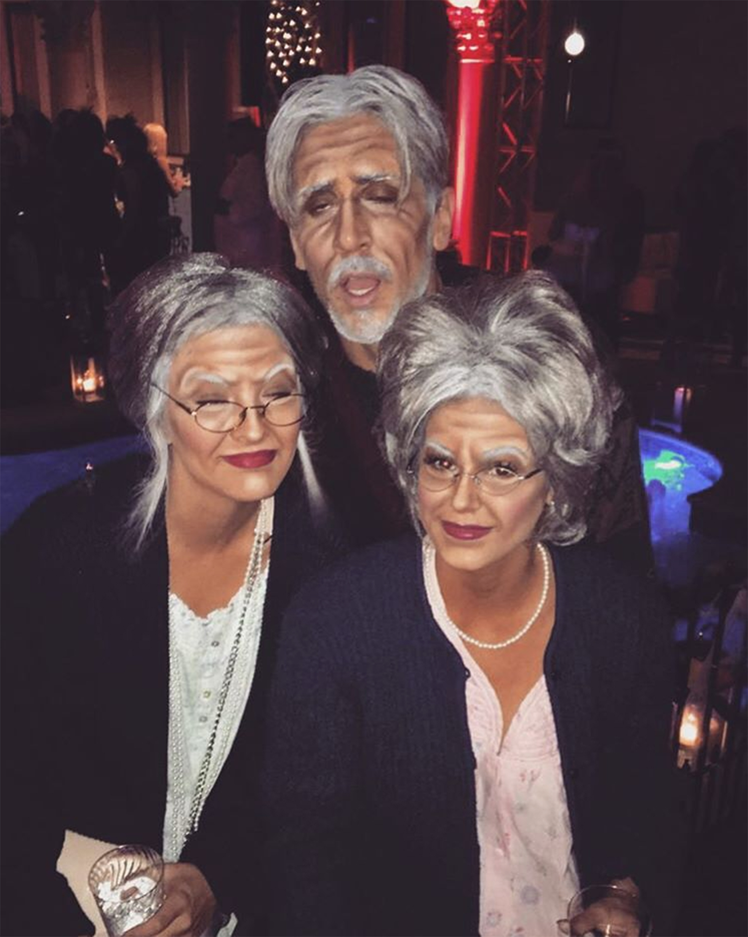 jojo fletcher jordan rodgers were old people for halloween