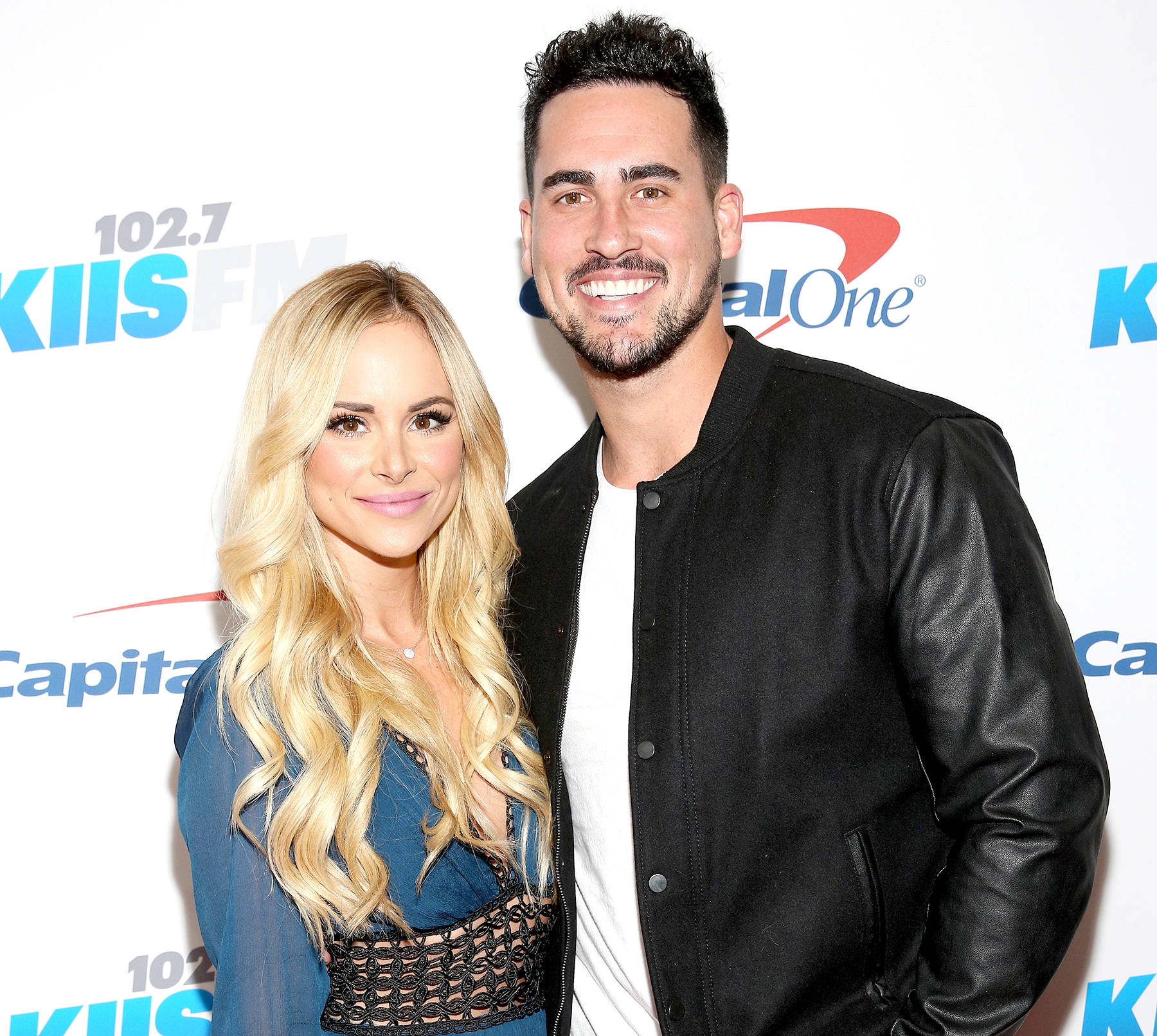 Amanda Stanton and Josh Murray attend 102.7 KIIS FM's Jingle Ball 2016 presented by Capital One at Staples Center in Los Angeles on December 2, 2016.