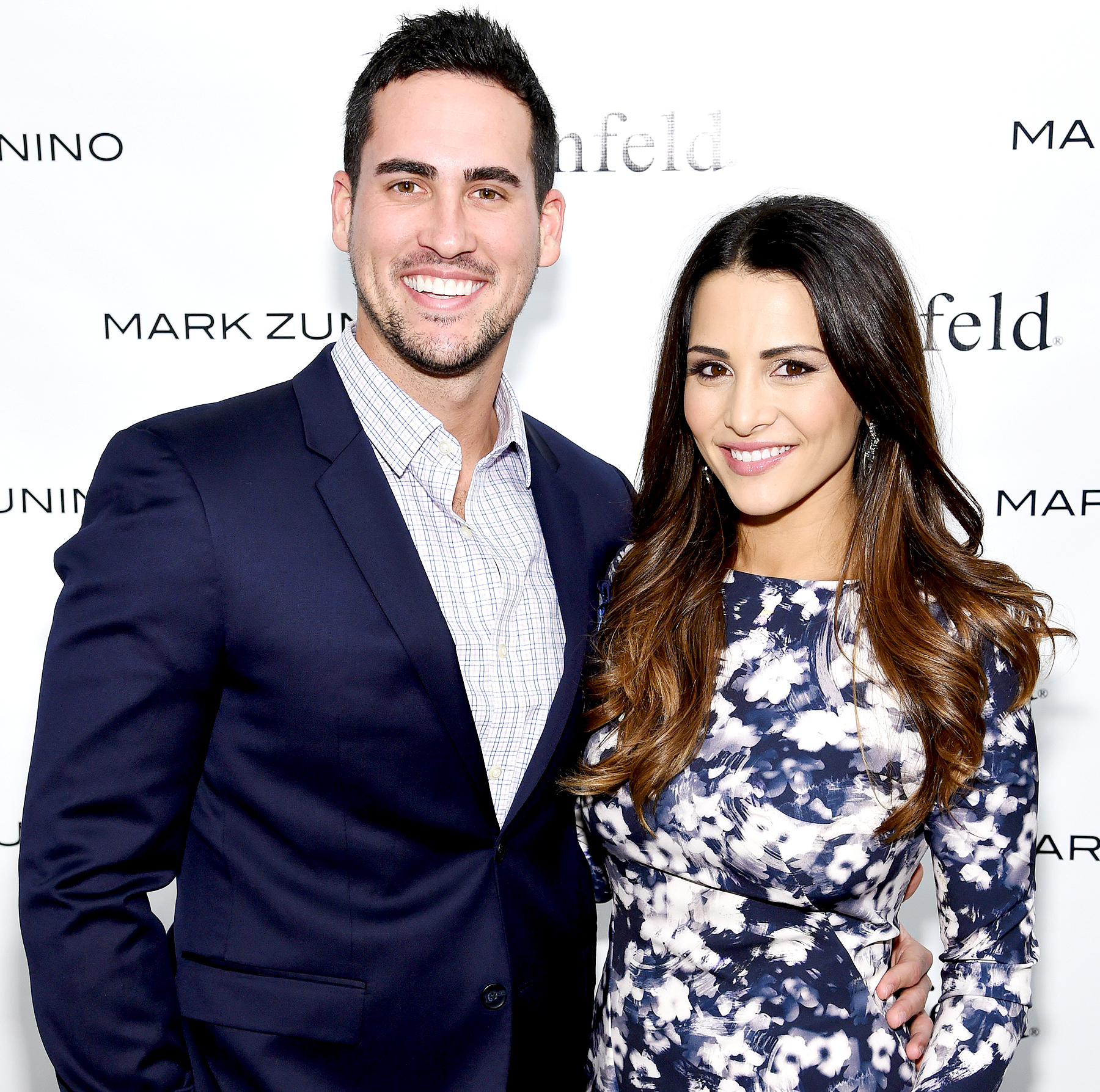 Josh Murray and Andi Dorfman attend The Mark Zunino For Kleinfeld 2015 Runway Show at Kleinfeld in New York City on October 14, 2014.