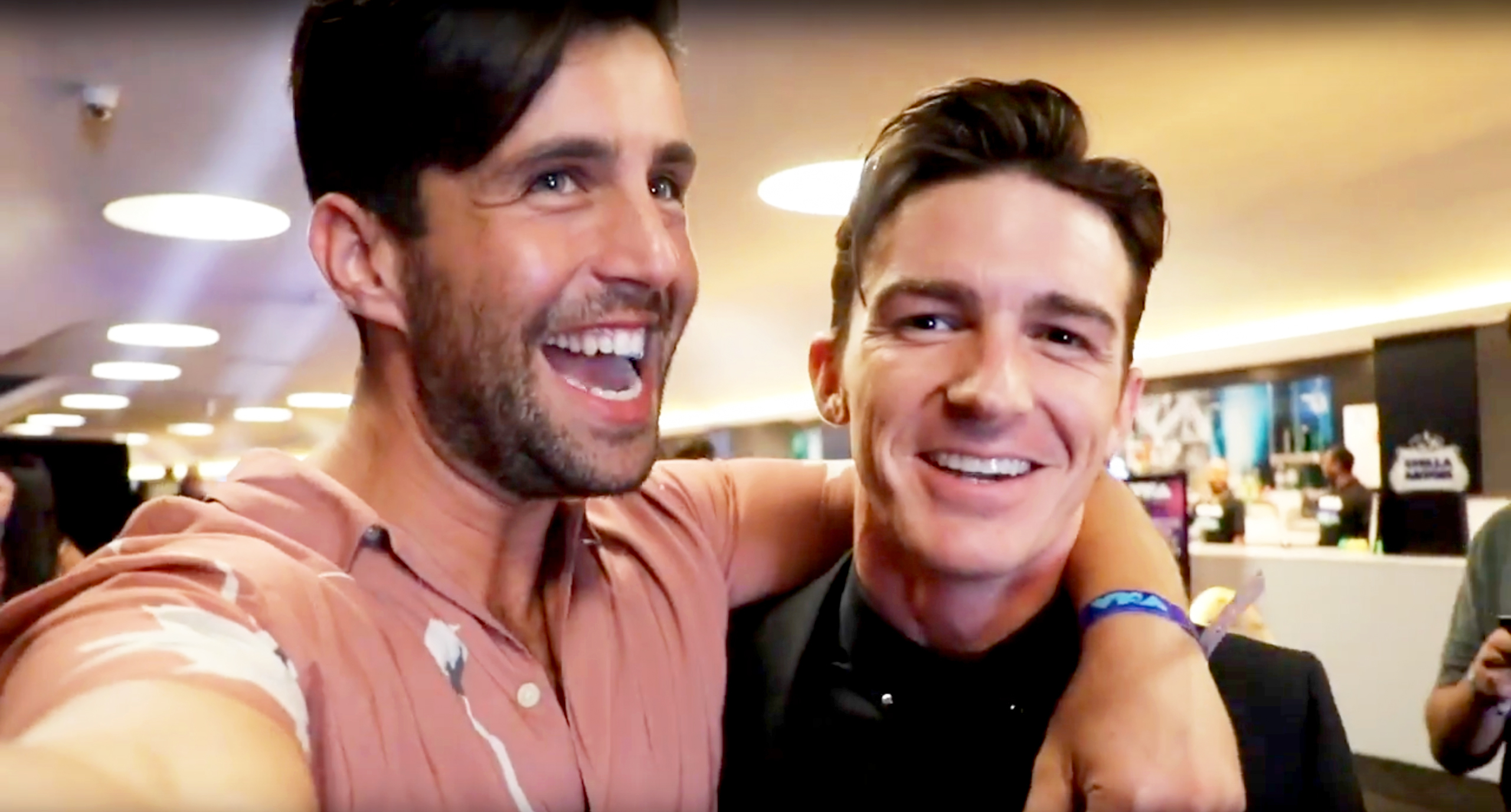 Josh Peck and Drake Bell