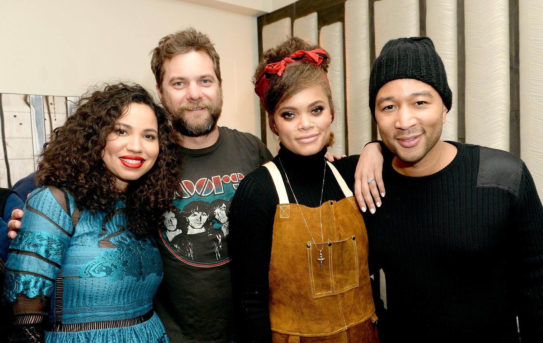 Jurnee Smollett-Bell, Joshua Jackson, Andra Day, and John Legend attend WGN America's