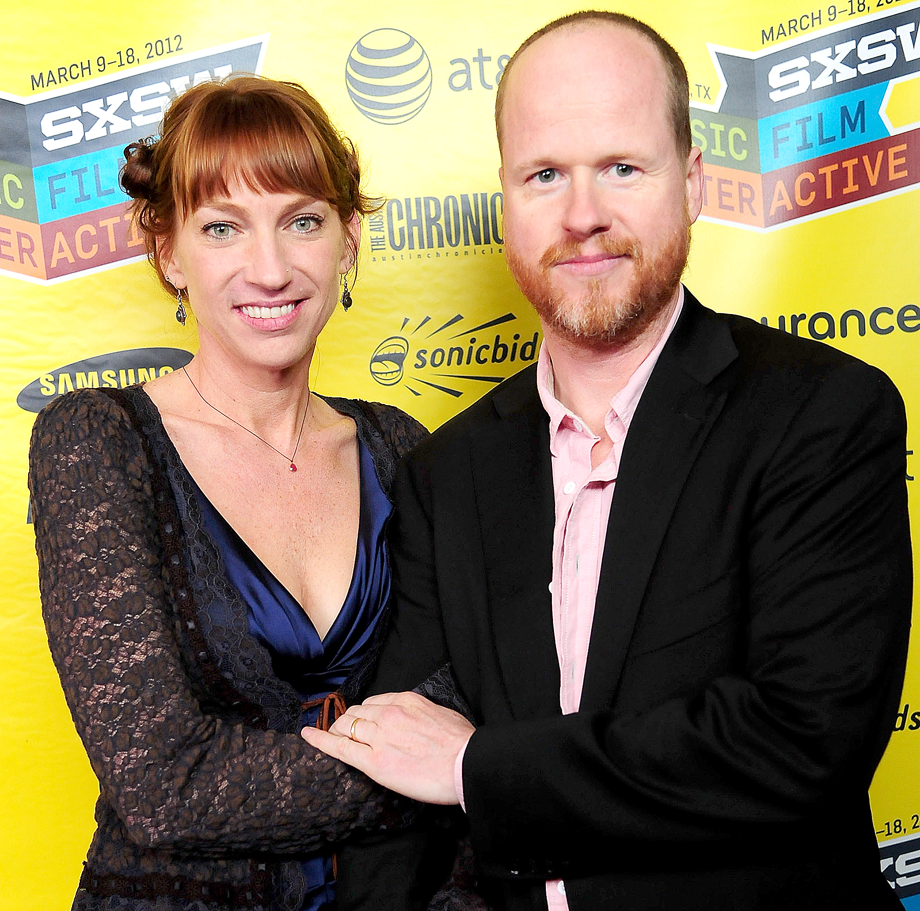 "Joss Whedon and Kai Cole attend the World Premiere of ""The Cabin in the Woods"" at Paramount Theatre on March 9, 2012 in Austin, Texas."