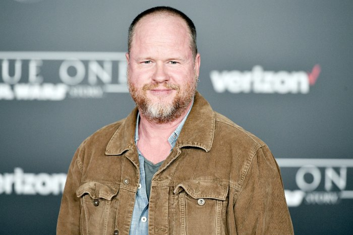 """Joss Whedon attends the premiere of Walt Disney Pictures and Lucasfilm's """"Rogue One: A Star Wars Story"""" at the Pantages Theatre on December 10, 2016 in Hollywood, California."""