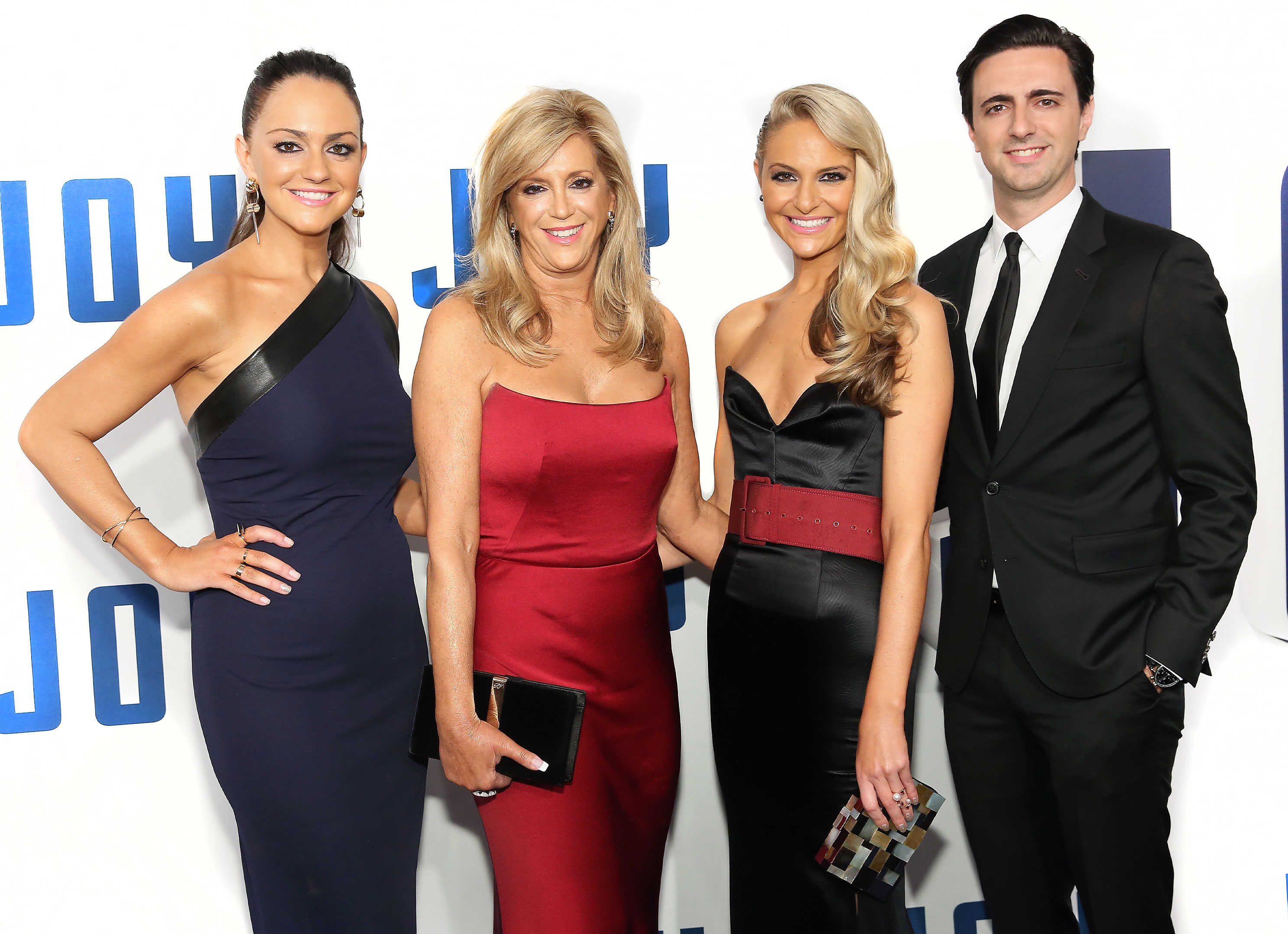 Christie Miranne, Joy Mangano, Jacqueline Miranne and Robert Miranne