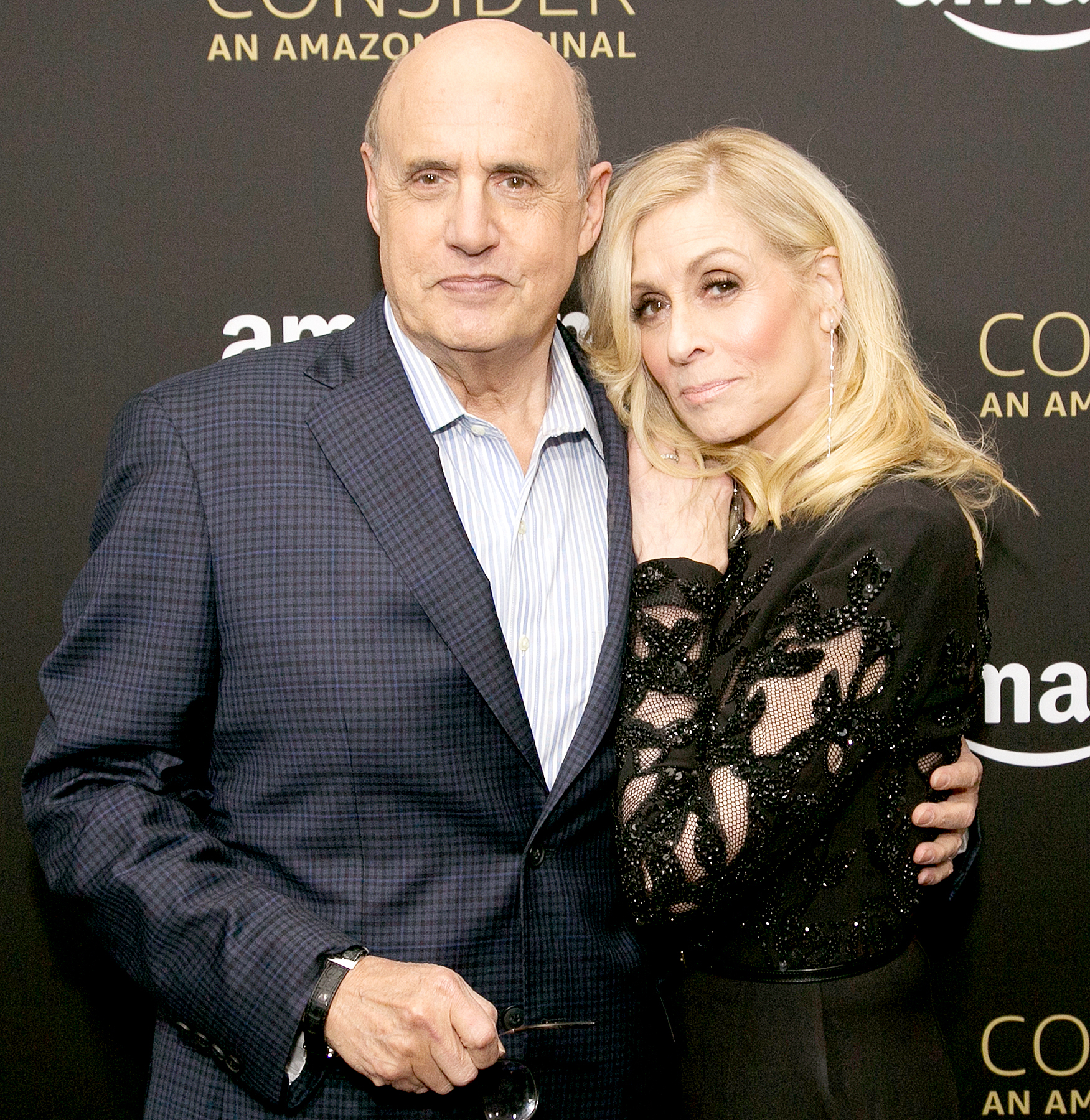 "Jeffrey Tambor (L) and Judith Light arrive for Amazon Prime Video's Emmy FYC event and screening for ""Transparent"" at Hollywood Athletic Club on April 22, 2017 in Hollywood, California."