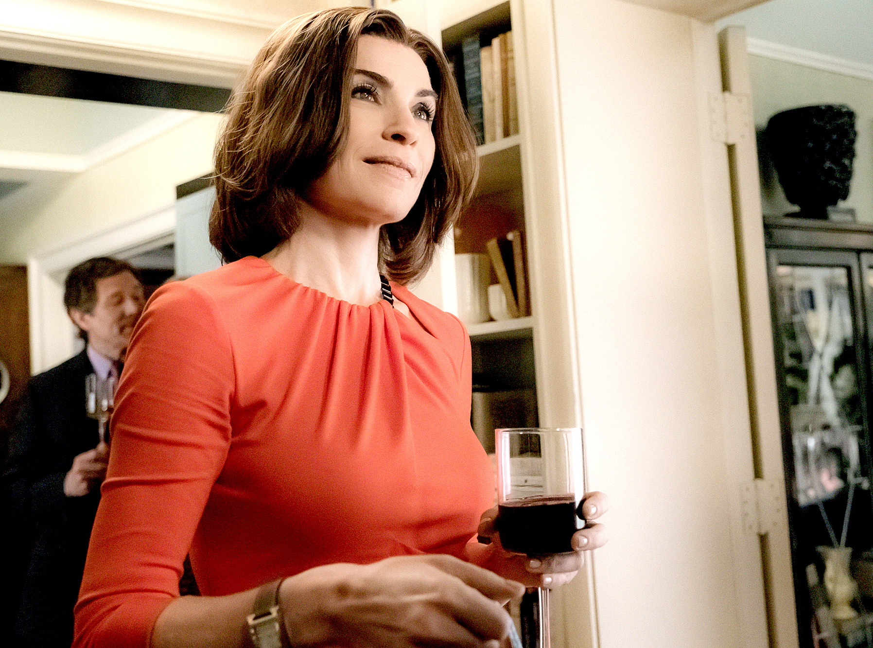 Julianna Margulies as Alicia Florrick on The Good Wife.