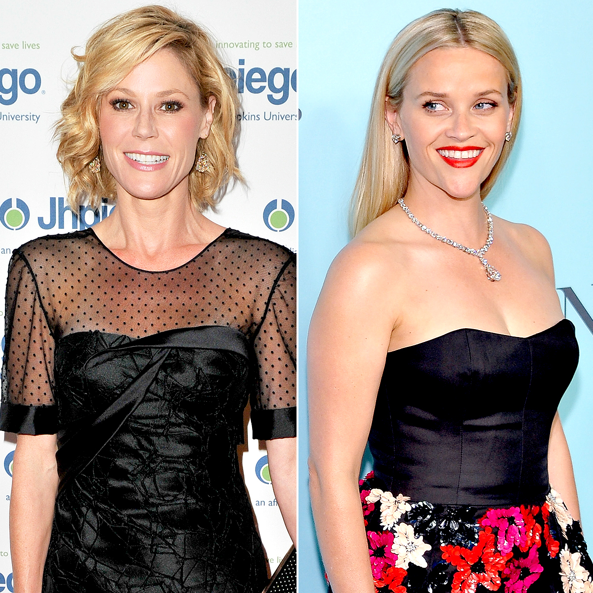 Julie Bowen and Reese Witherspoon