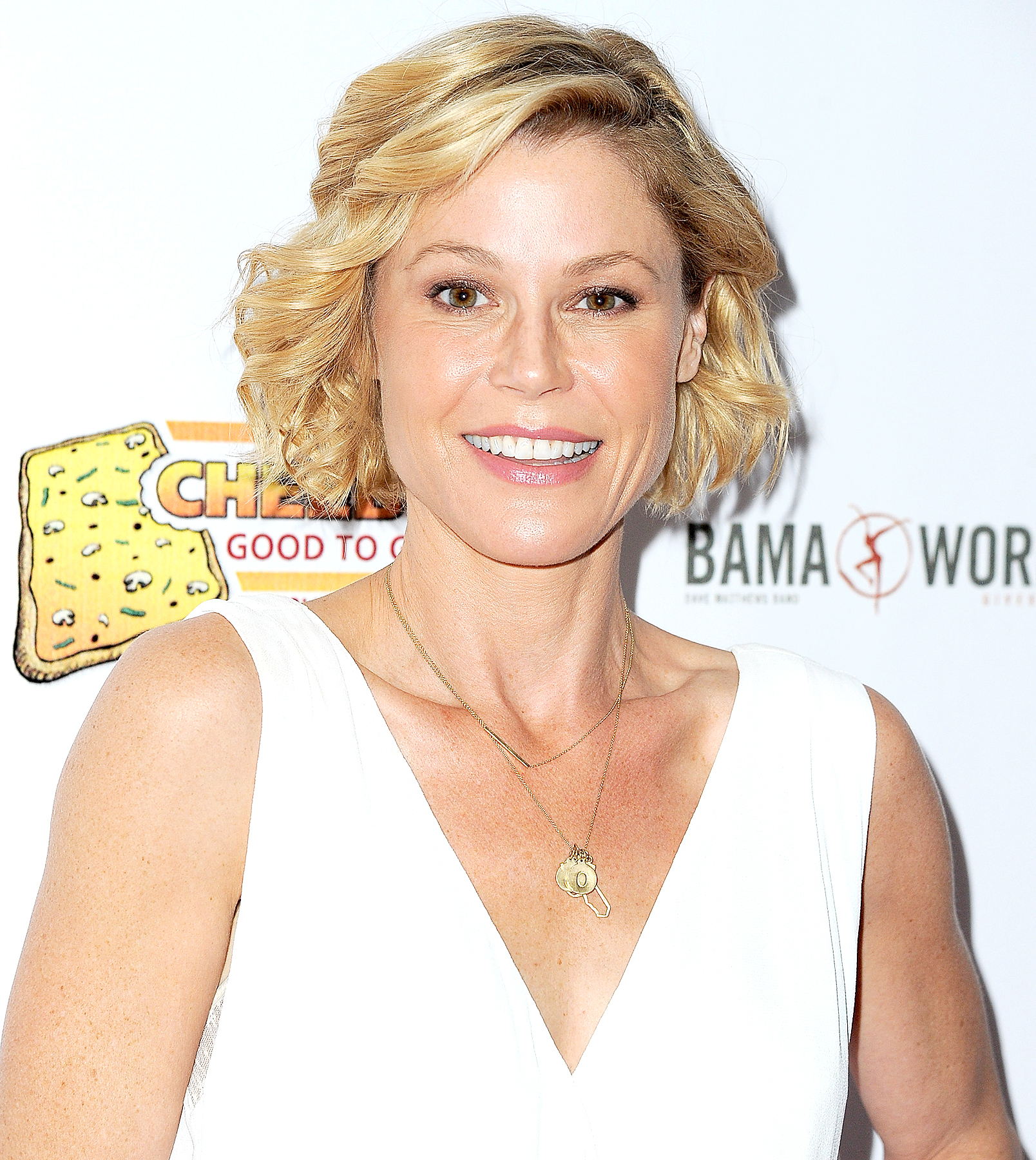 Julie Bowen arrives at the 7th Annual Milk + Bookies' Story Time Celebration at California Market Center on April 17, 2016 in Los Angeles, California.