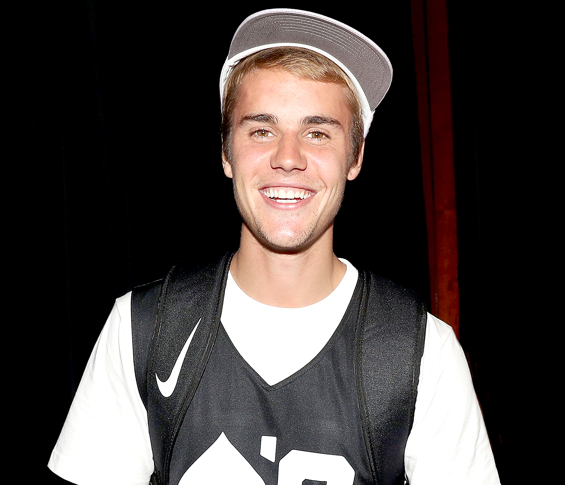 Justin Bieber attends the Aces Charity Celebrity Basketball Game at Madison Square Garden in New York City on August 13, 2017.