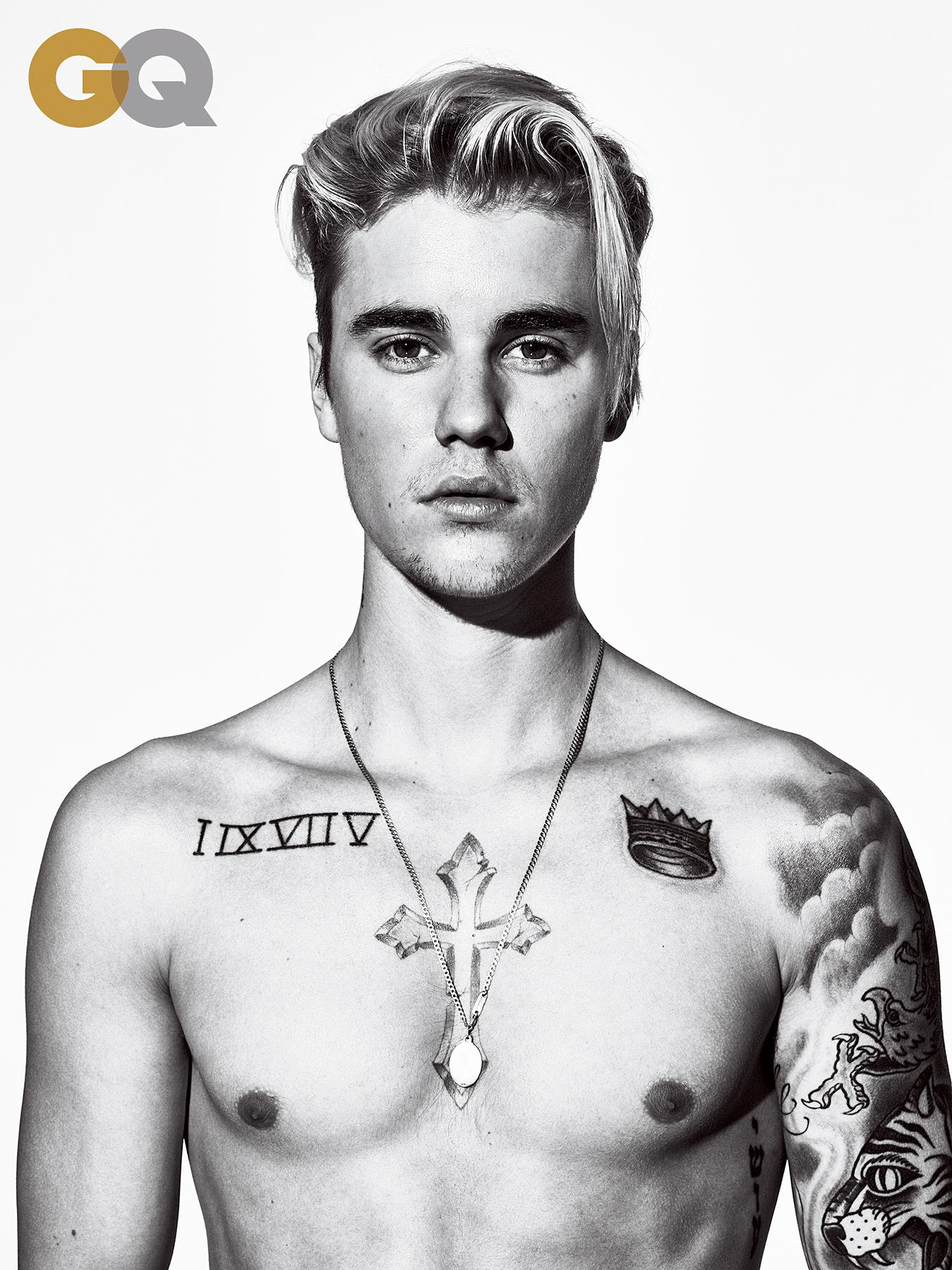 Justin Bieber in 'GQ'