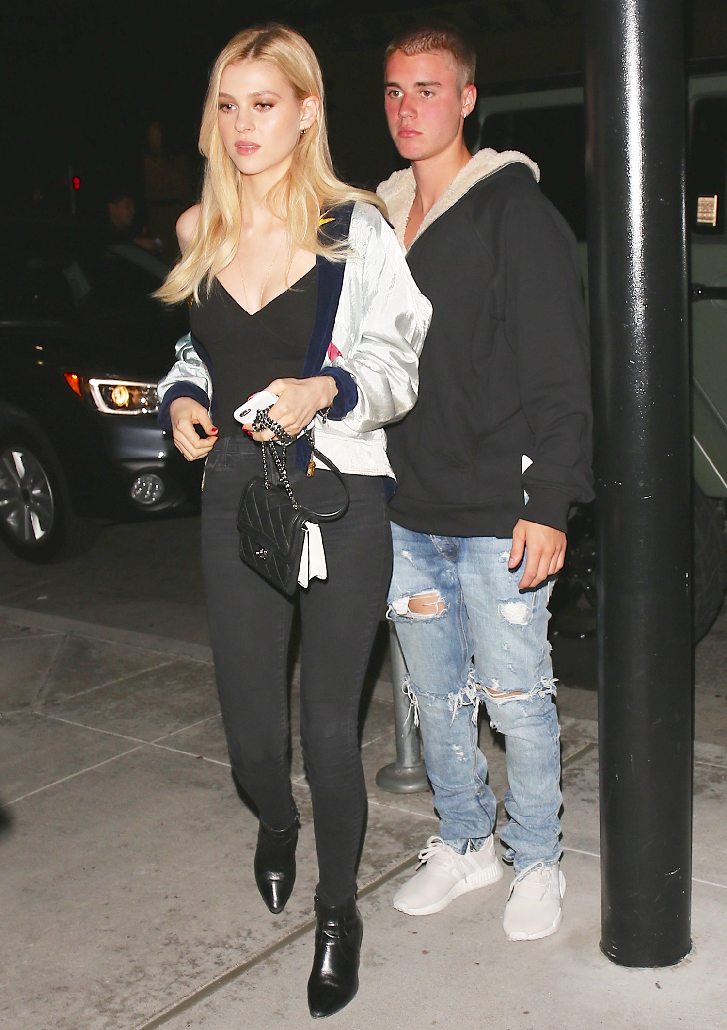 Justin Bieber and Nicola Peltz