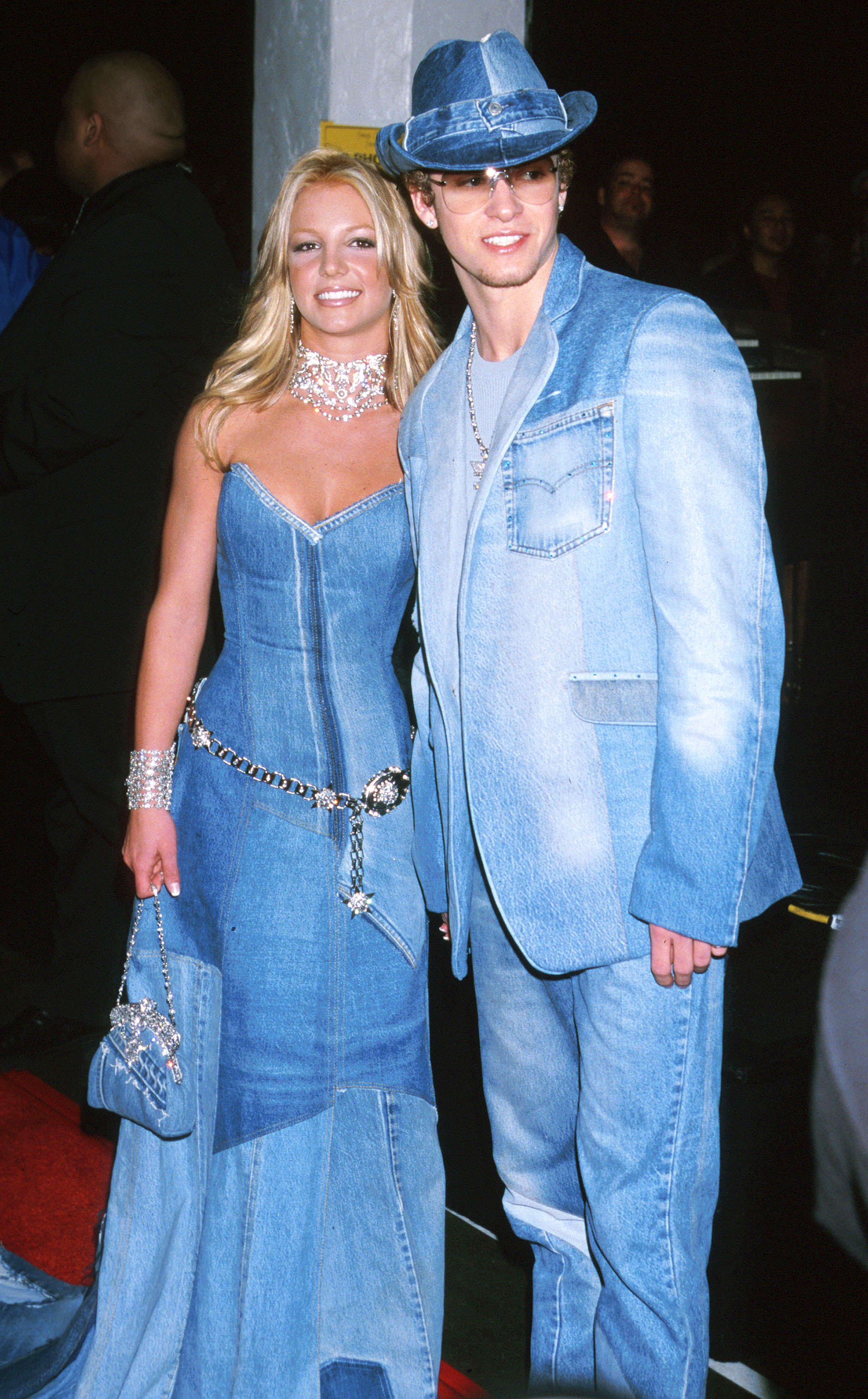 Image result for justin and britney denim