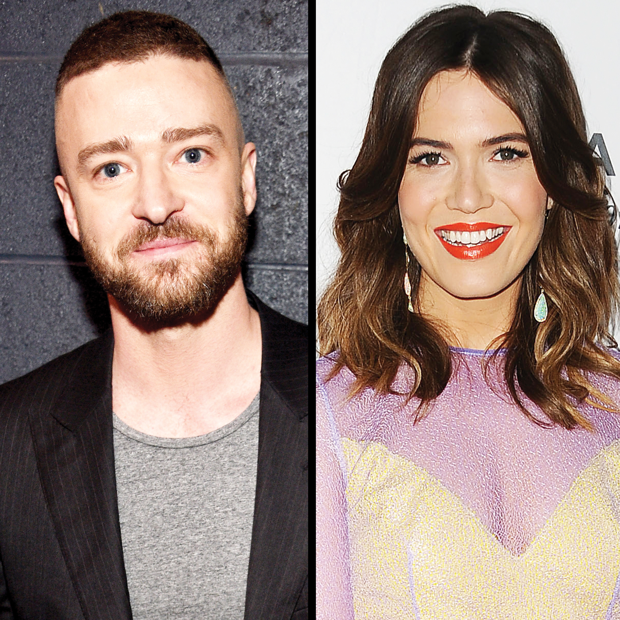 Justin Timberlake and Mandy Moore
