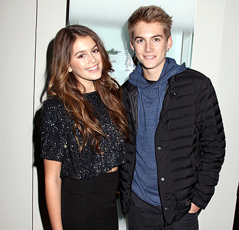 Kaia and Presley Gerber