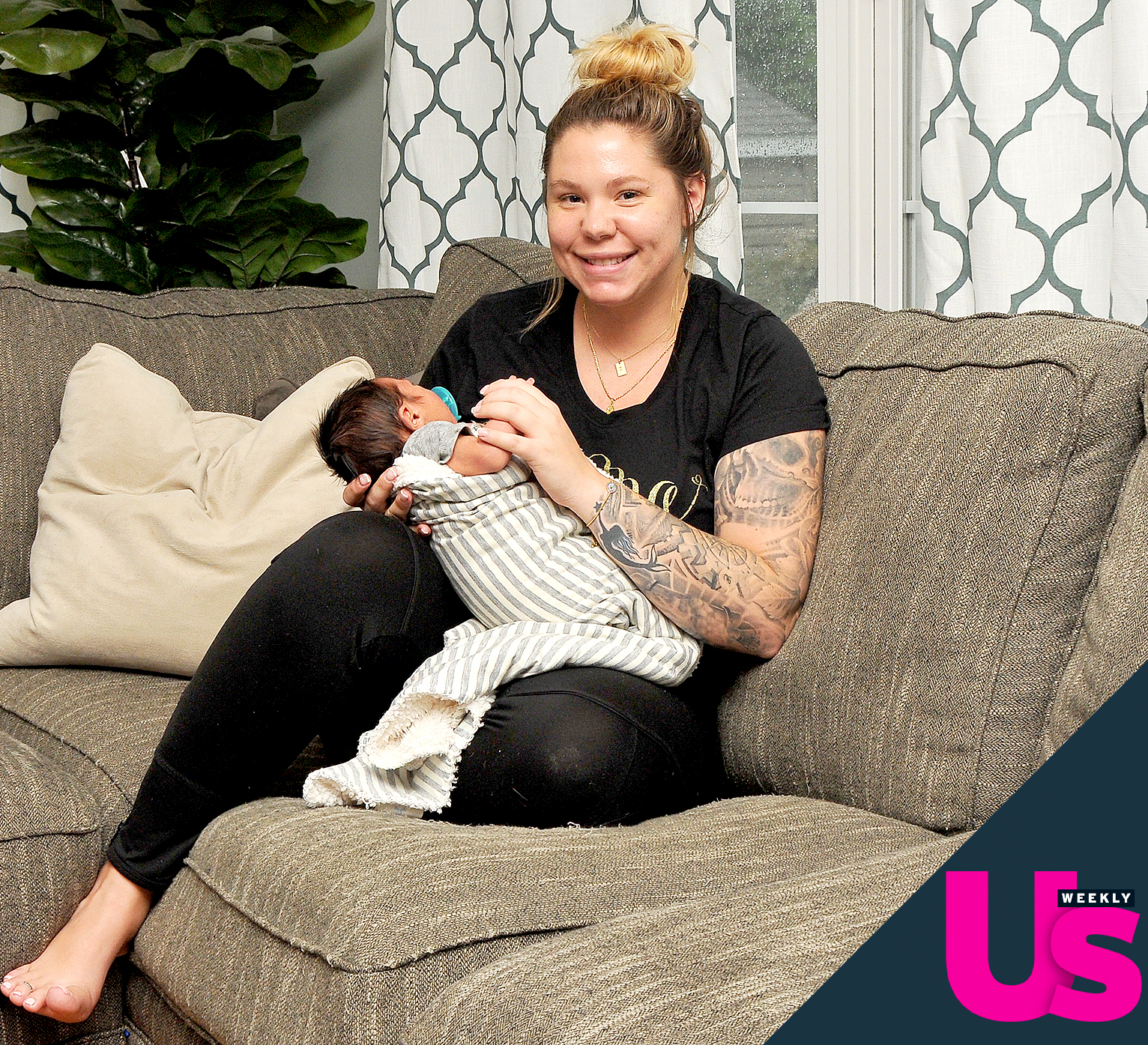 Kailyn Lowry and her baby boy