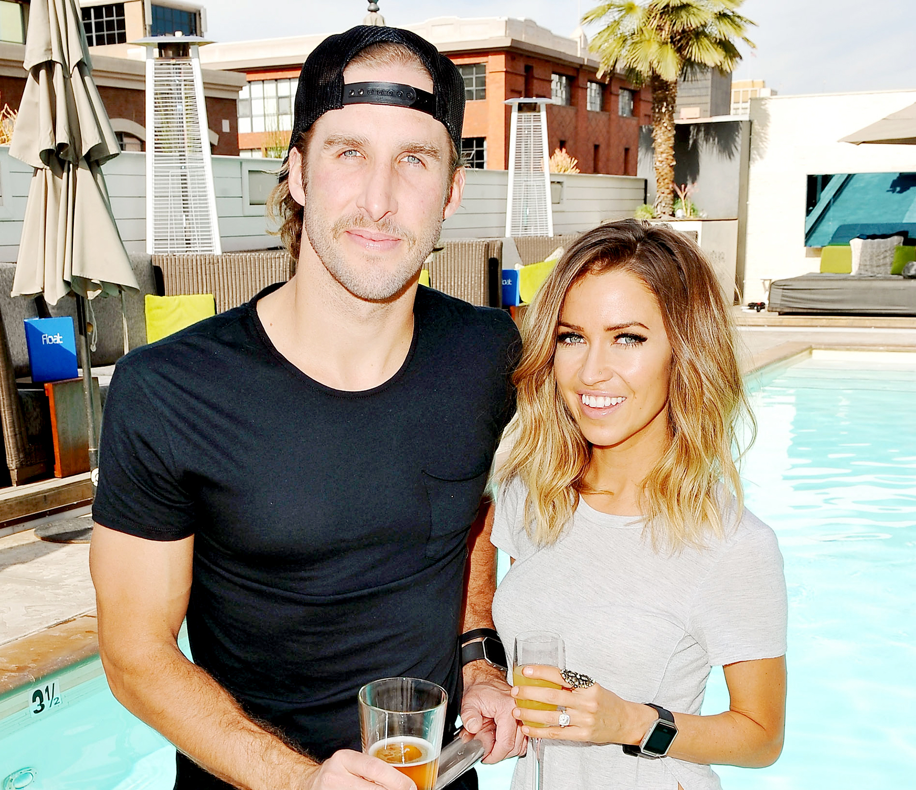 Shawn Booth And Kaitlyn Bristowe Visit Hard Rock Hotel San Diego On November 12 2016