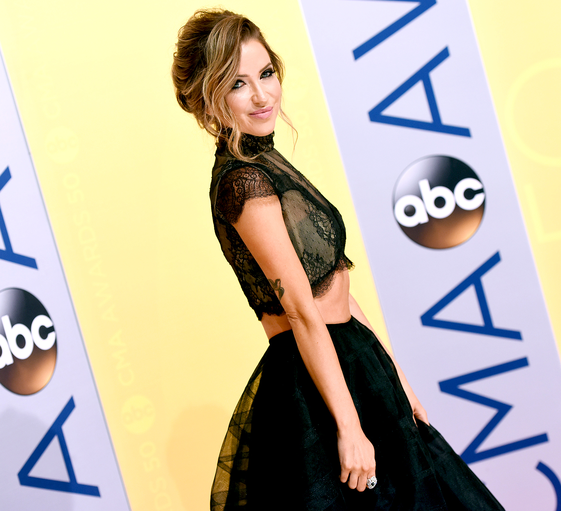 Kaitlyn Bristowe attends the 50th annual CMA Awards at the Bridgestone Arena on November 2, 2016 in Nashville, Tennessee.