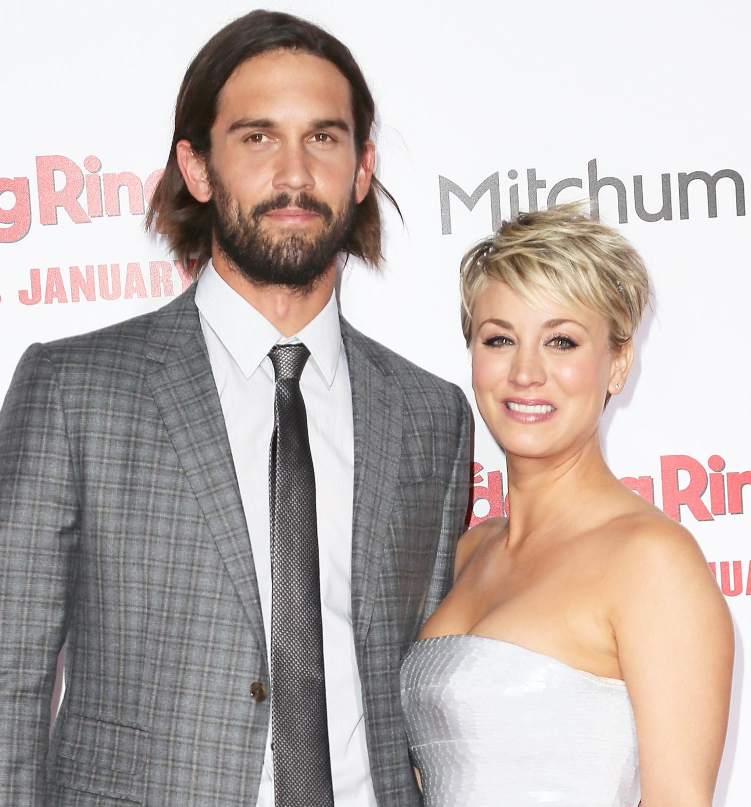 Kaley Cuoco and husband Ryan Sweeting