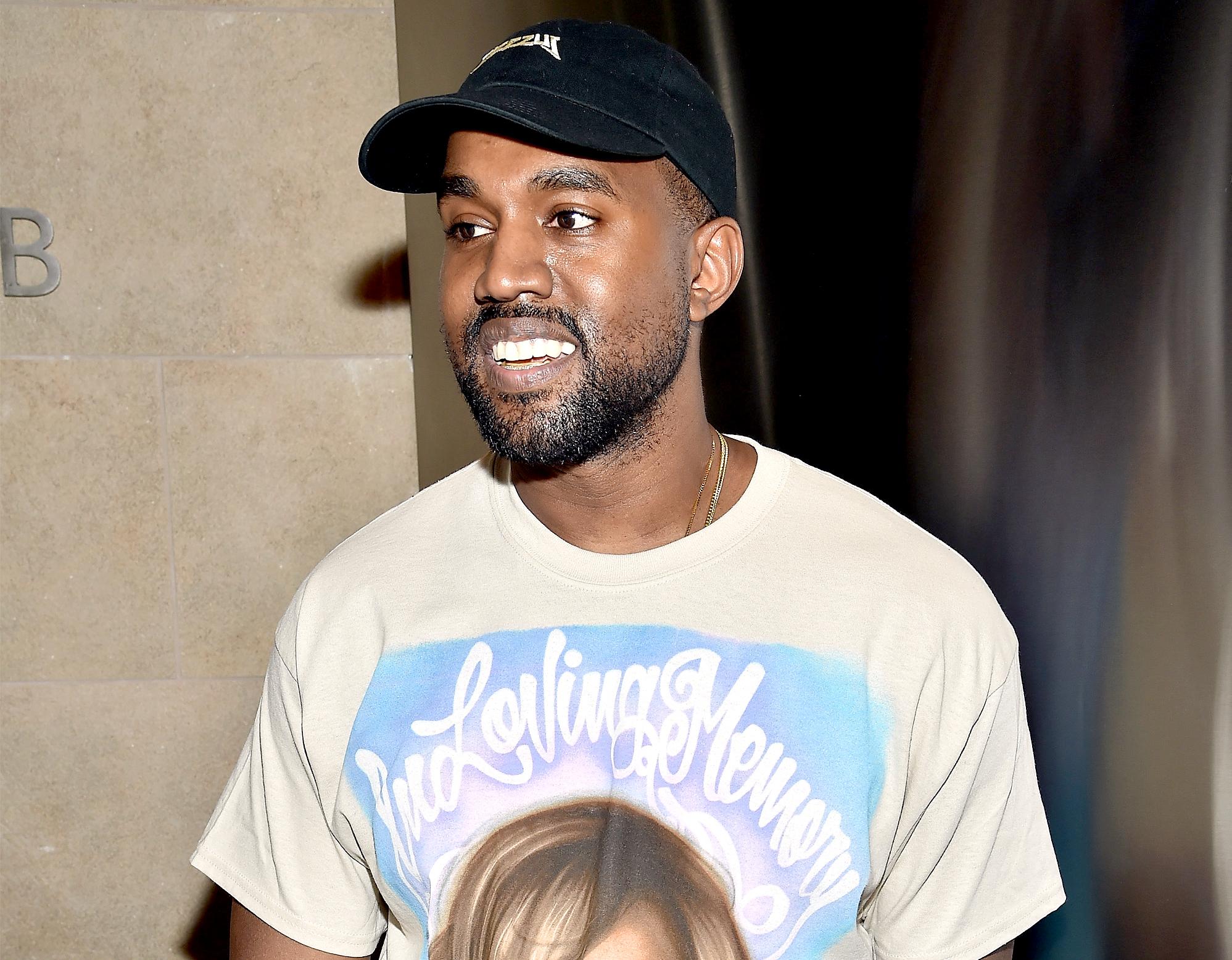 Kanye West attends Kanye West Yeezy Season 3 on February 11, 2016.