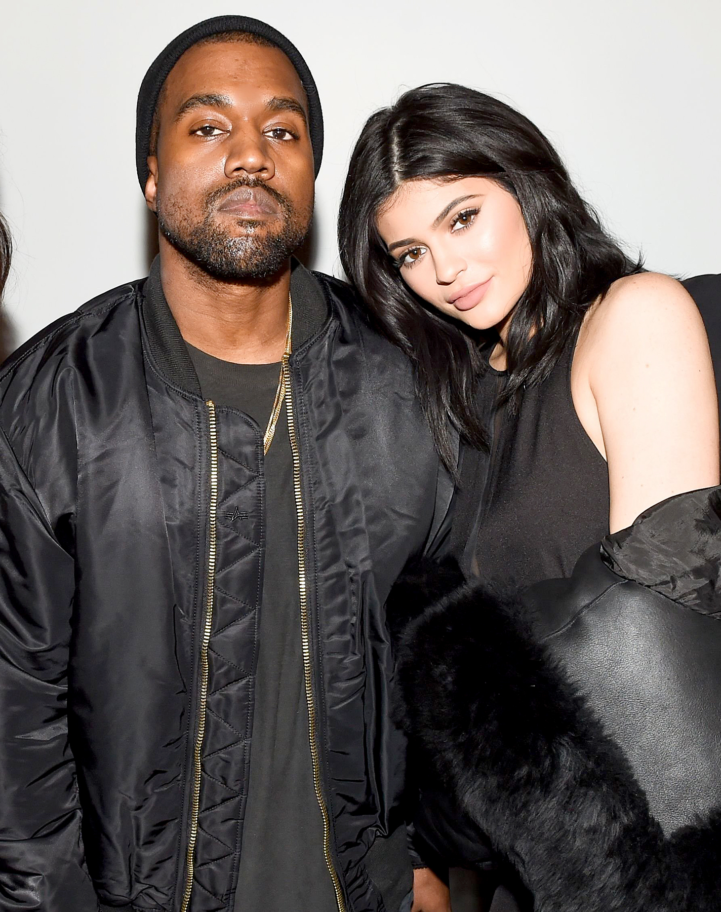 Kanye West and Kylie Jenner