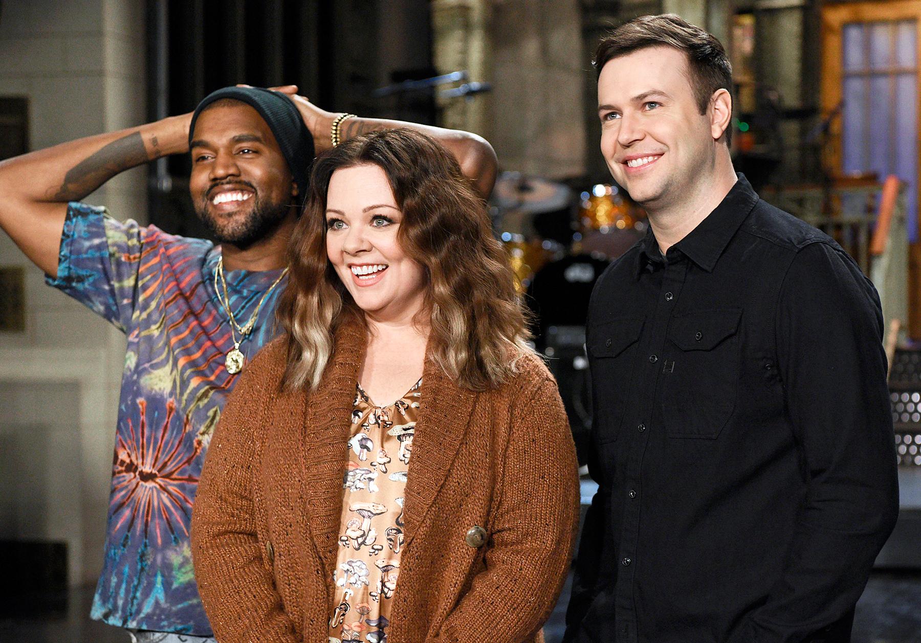 Kanye West on Saturday Night Live