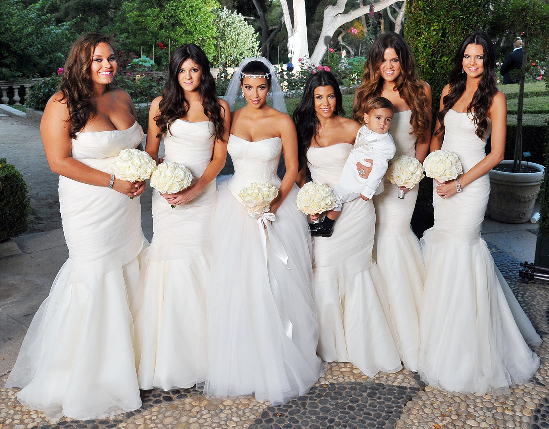 Celebrity bridesmaids stars whove helped at weddings celebrity bridesmaids ombrellifo Gallery